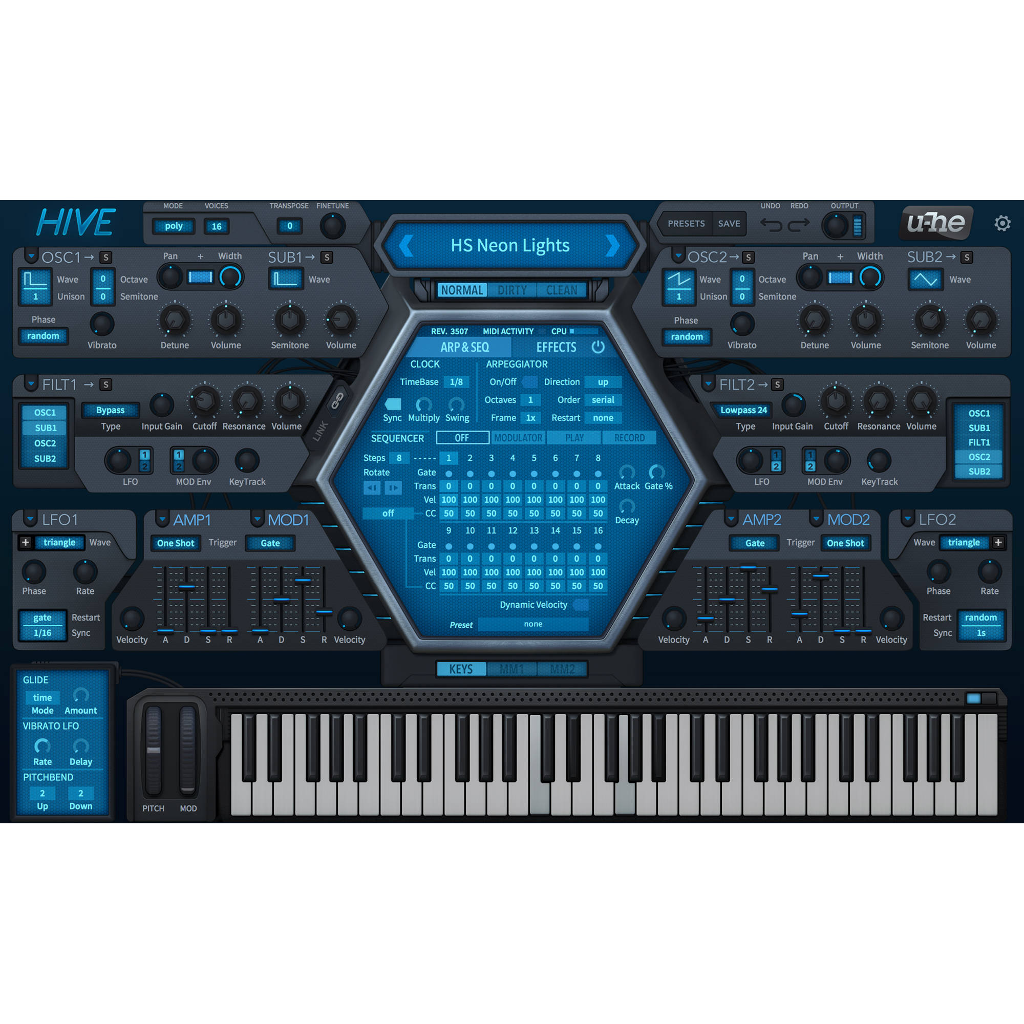 u-he Hive - Virtual Synthesizer (Download)
