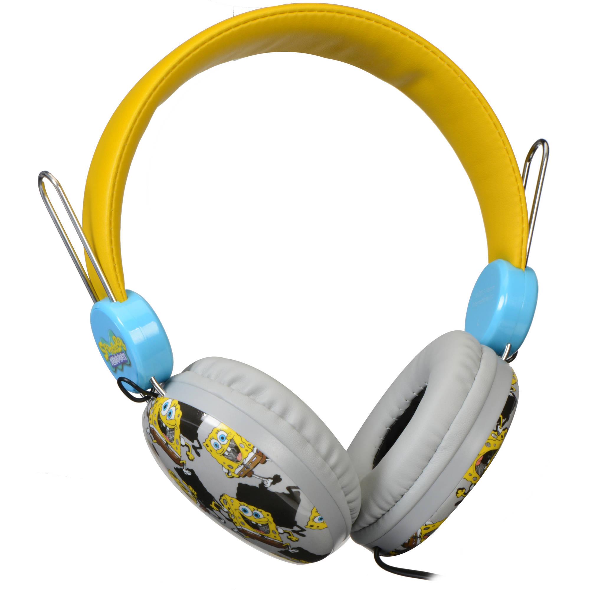 Sakar SpongeBob SquarePants Headphones