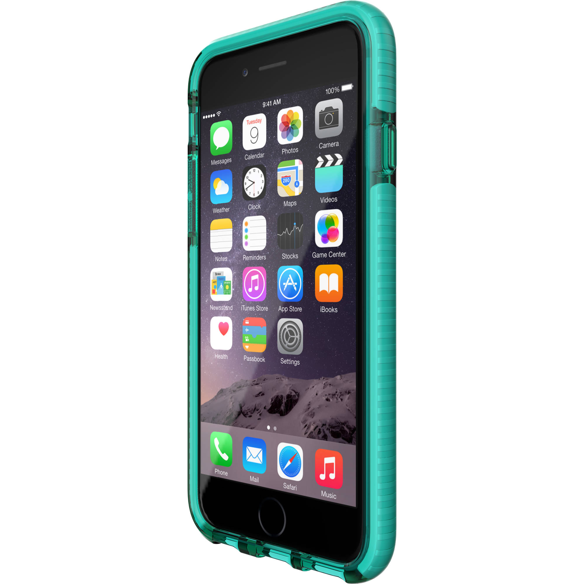 new arrival 66dcb 7c6cc Tech21 Evo Check Case for iPhone 6/6s (Aqua/White)