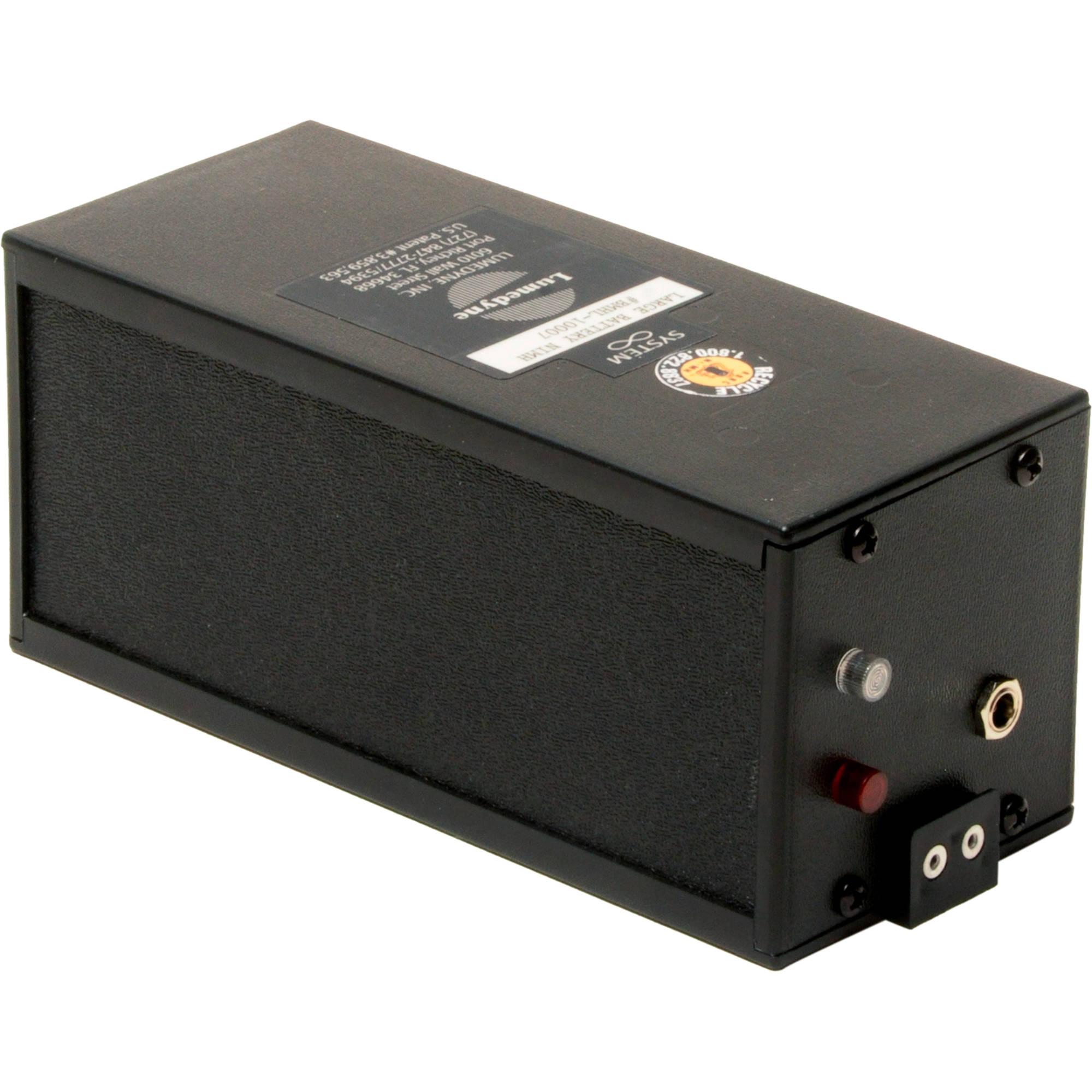 Nickel Metal Hydride Battery >> Lumedyne Bmhl Nickel Metal Hydride Battery Large