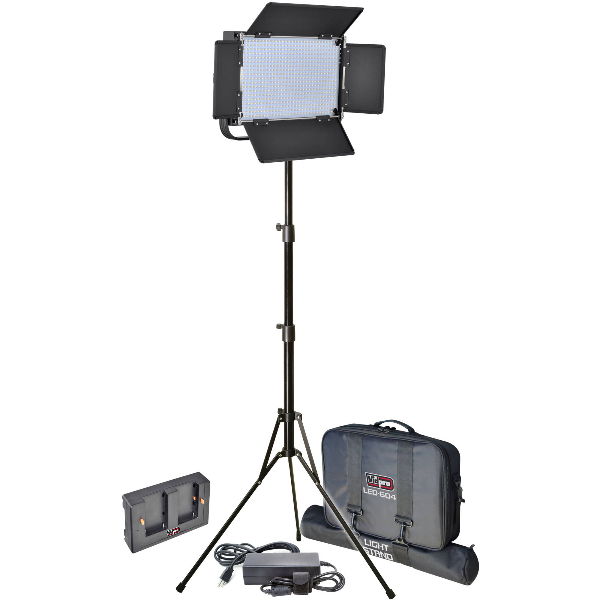 Vidpro Led 604 Pro Studio Light Kit