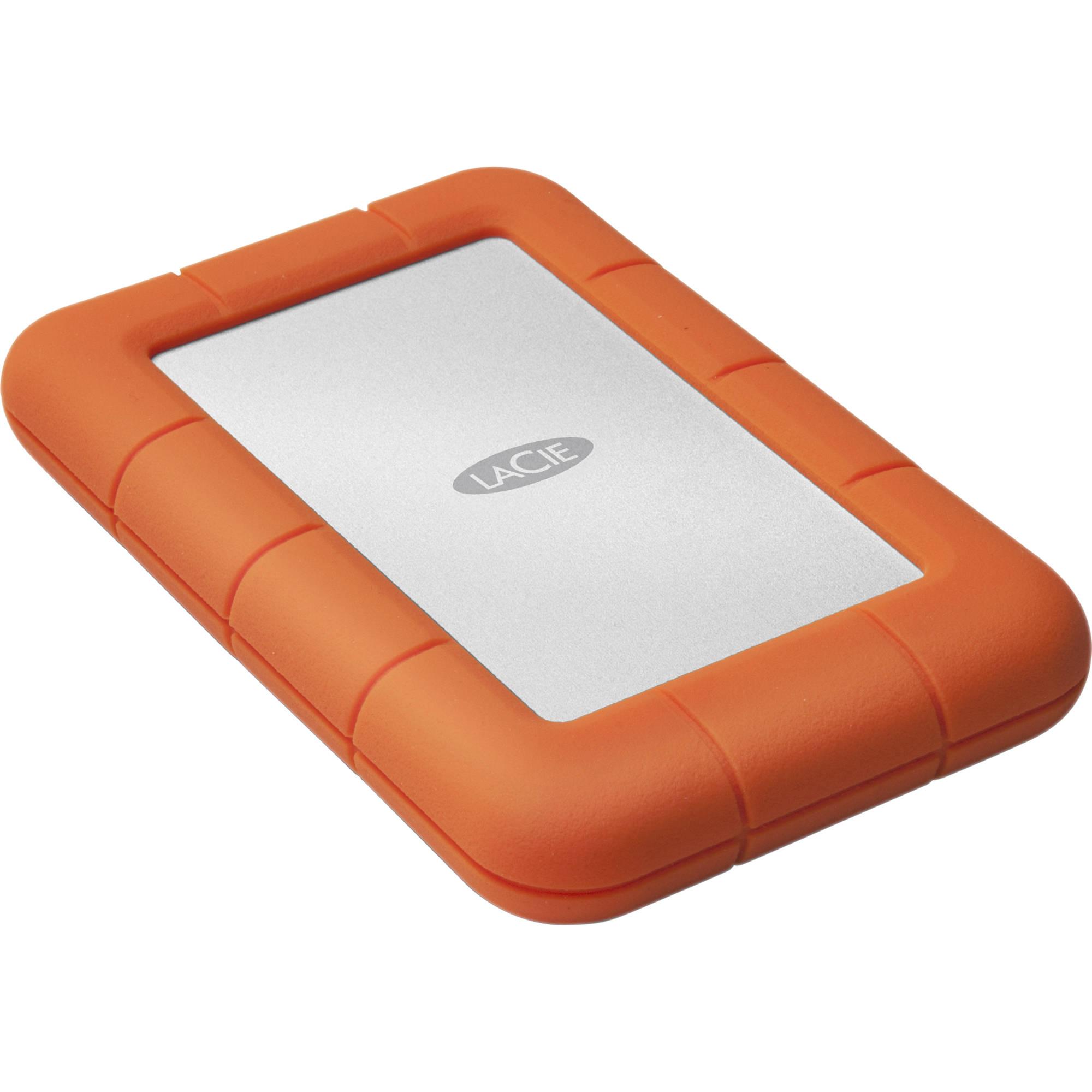 Lacie 4tb Rugged Mini Usb 3 0 External Hard Drive