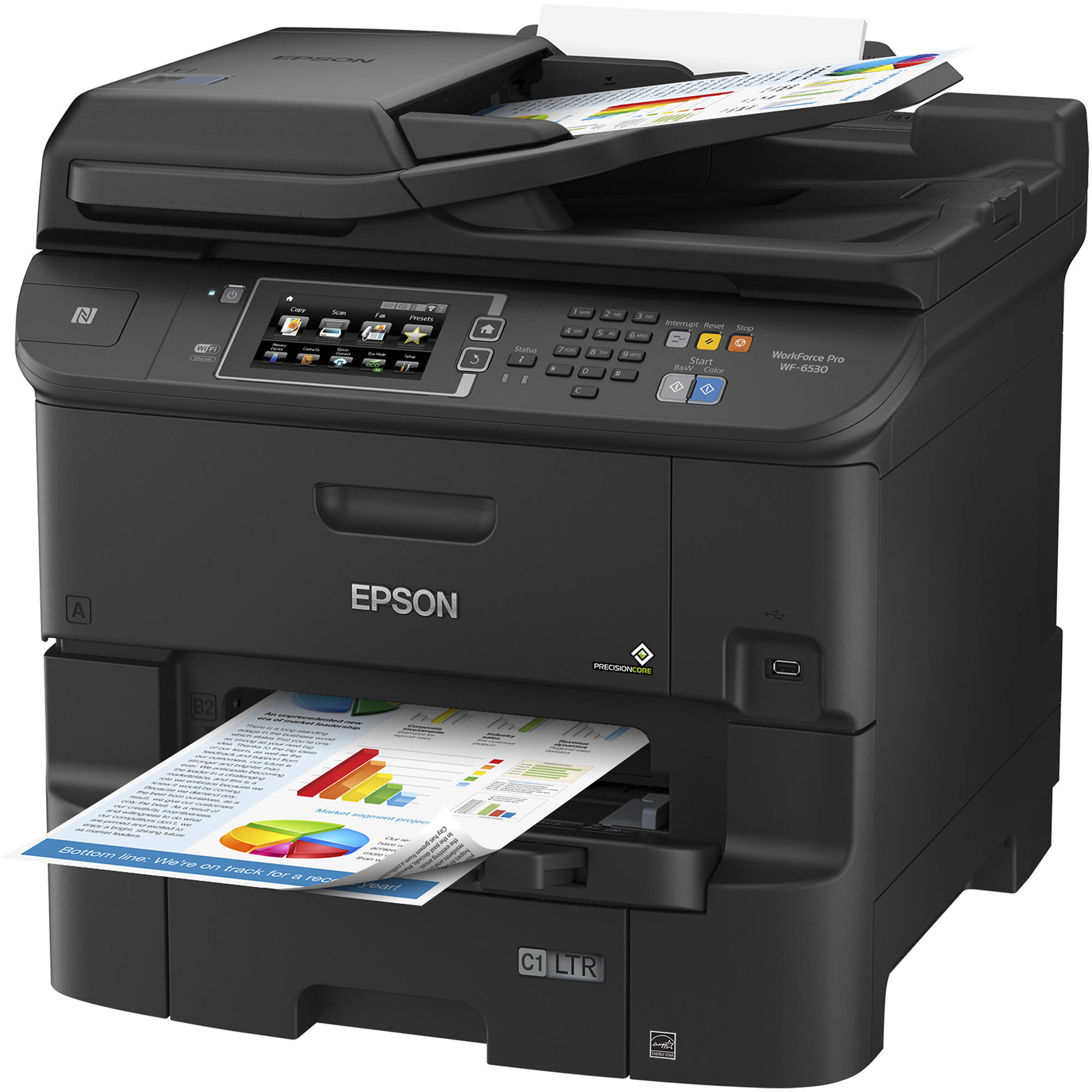 Epson WorkForce Pro WF-6530 All-in-One Inkjet Printer