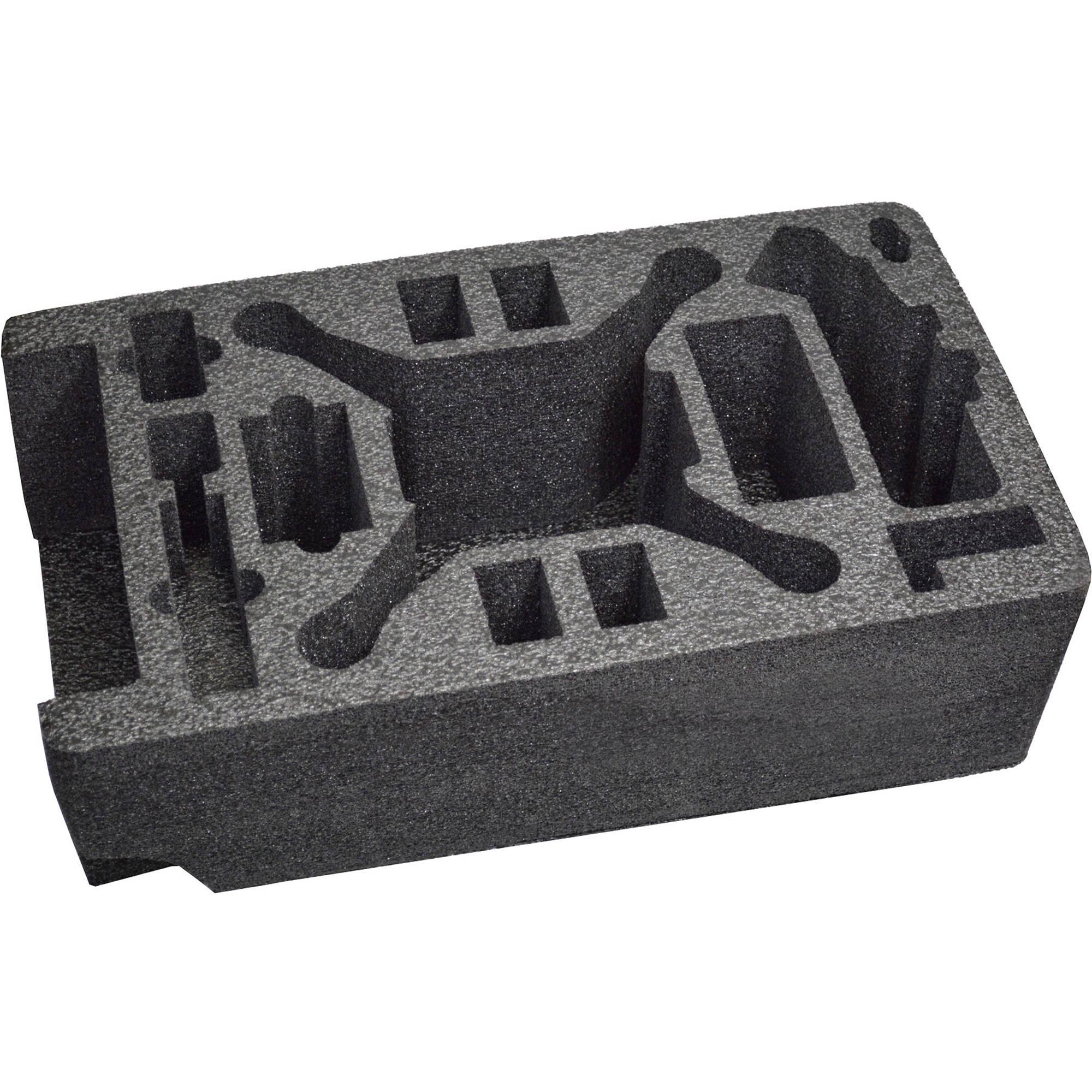 MyCaseBuilder DJI Phantom II/Vision/Plus Custom Foam Insert for Seahorse  SE-920 Case