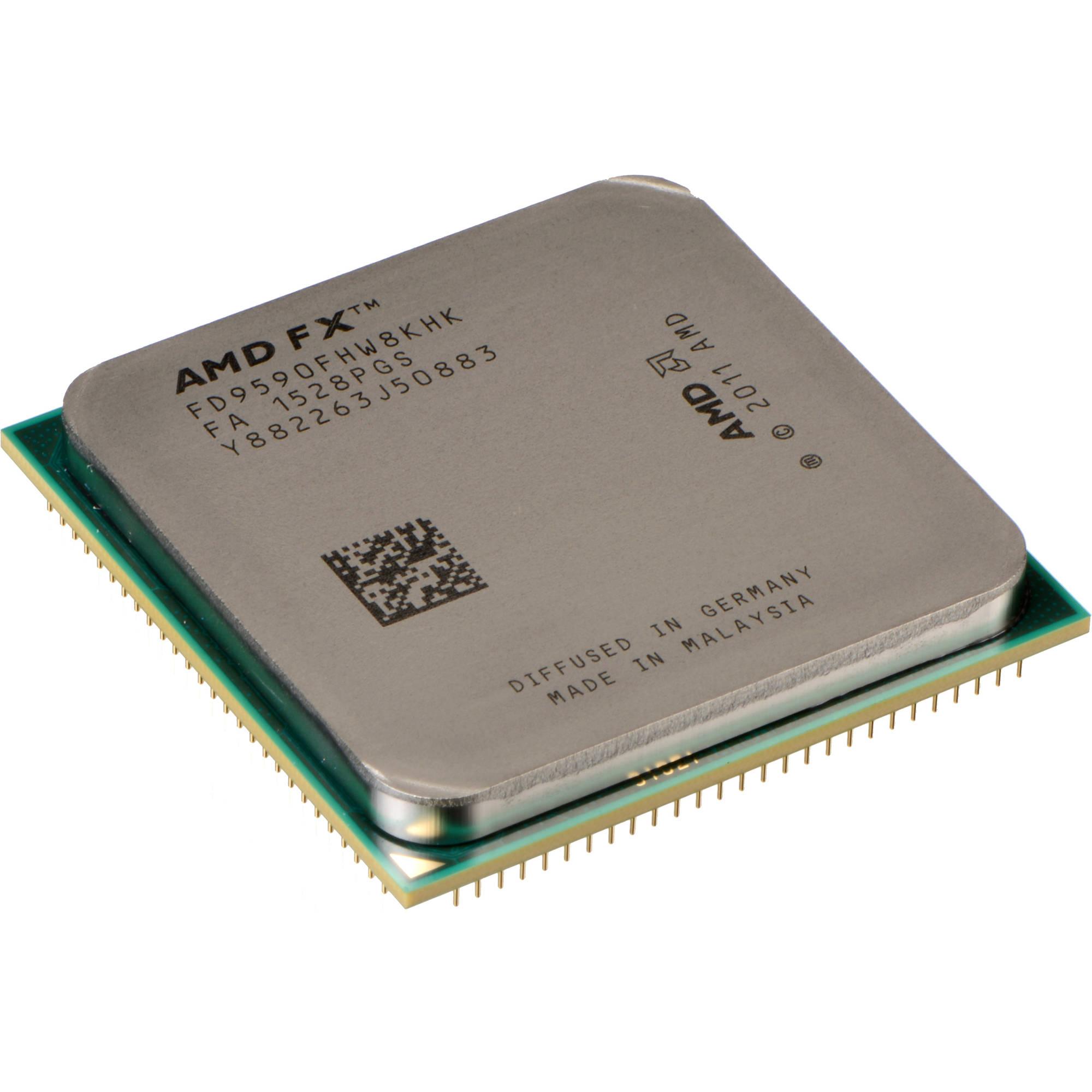 Amd 8 Core Fx 9590 4 7 Ghz Processor Fd9590fhhkwof B H Photo