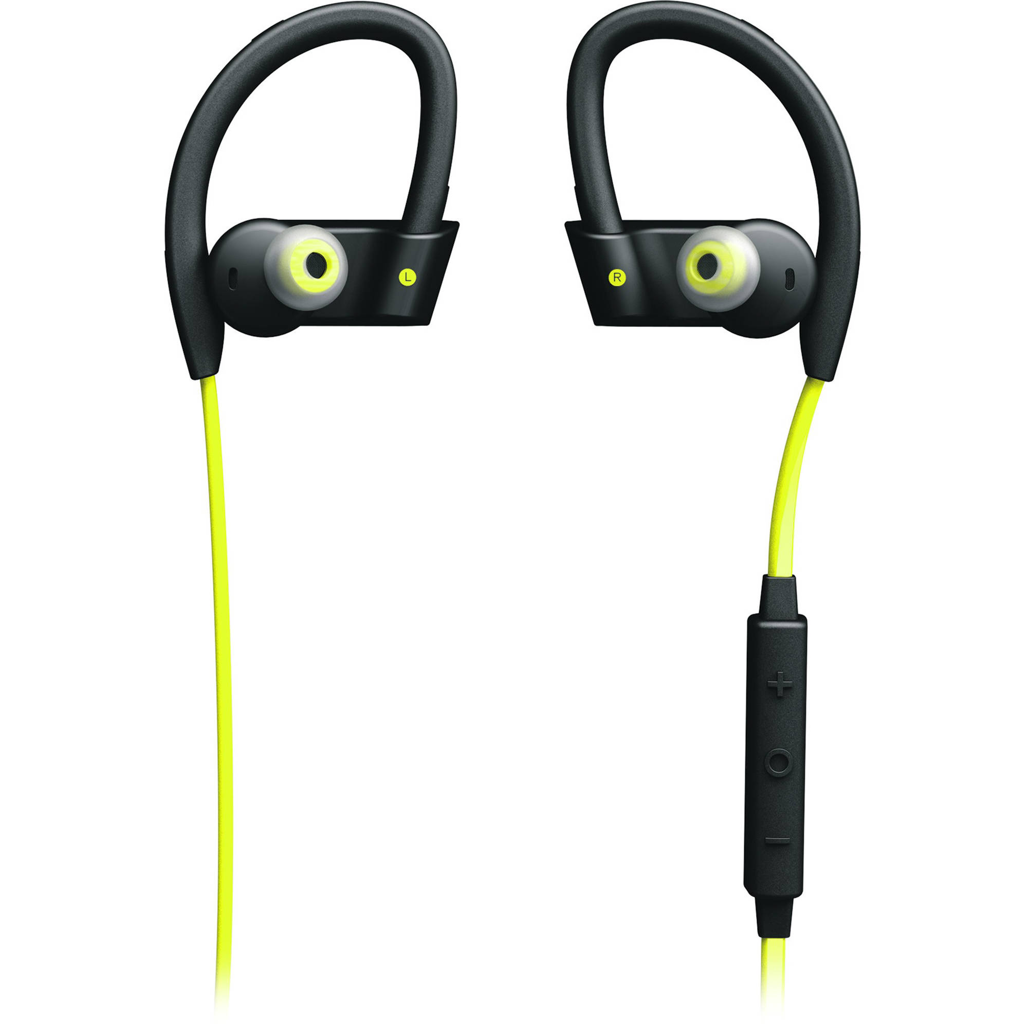 Jabra Sport Pace Wireless Earbuds Yellow Black 100 97700000 02