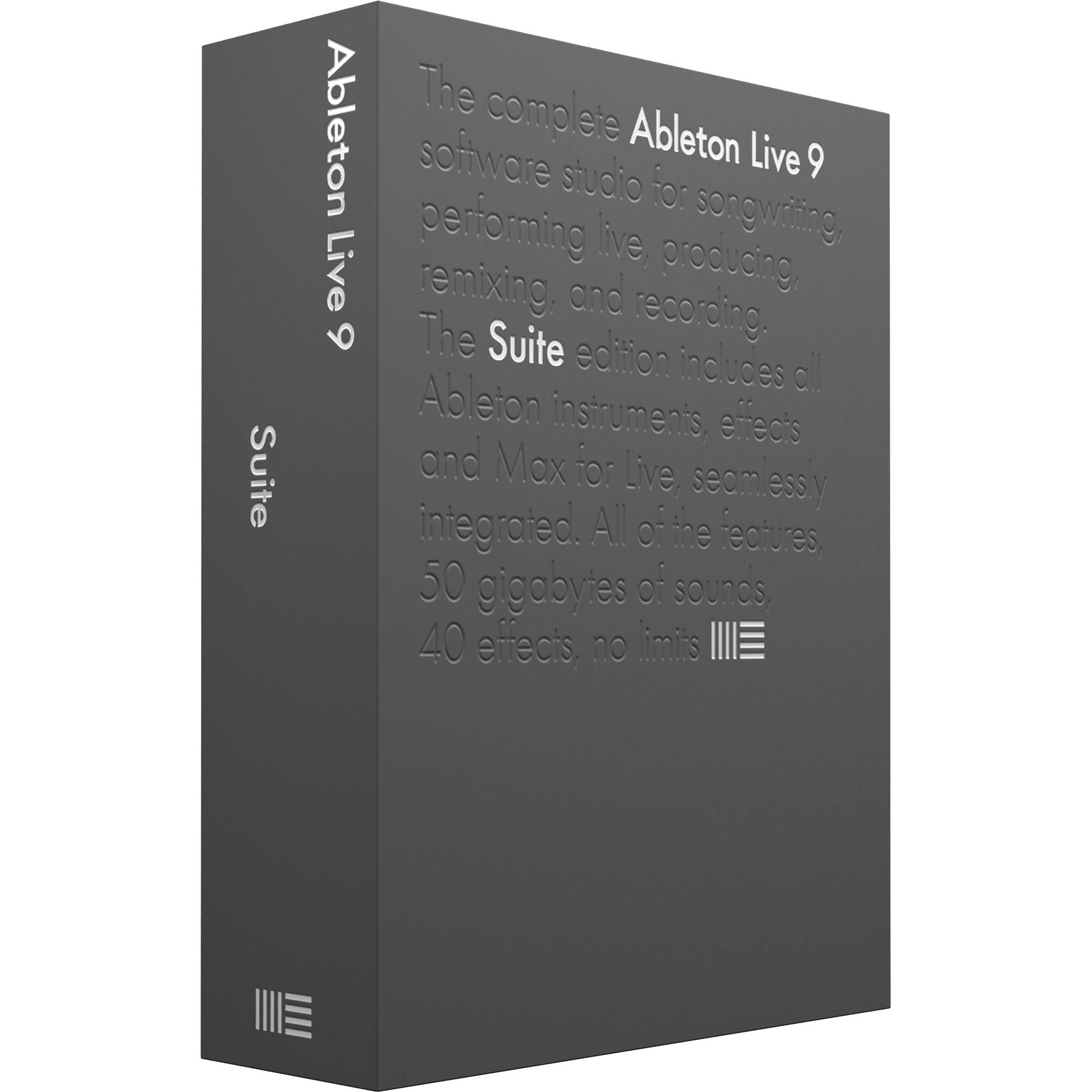 Ableton Live 9 Suite Upgrade - Music Production Software (Download)