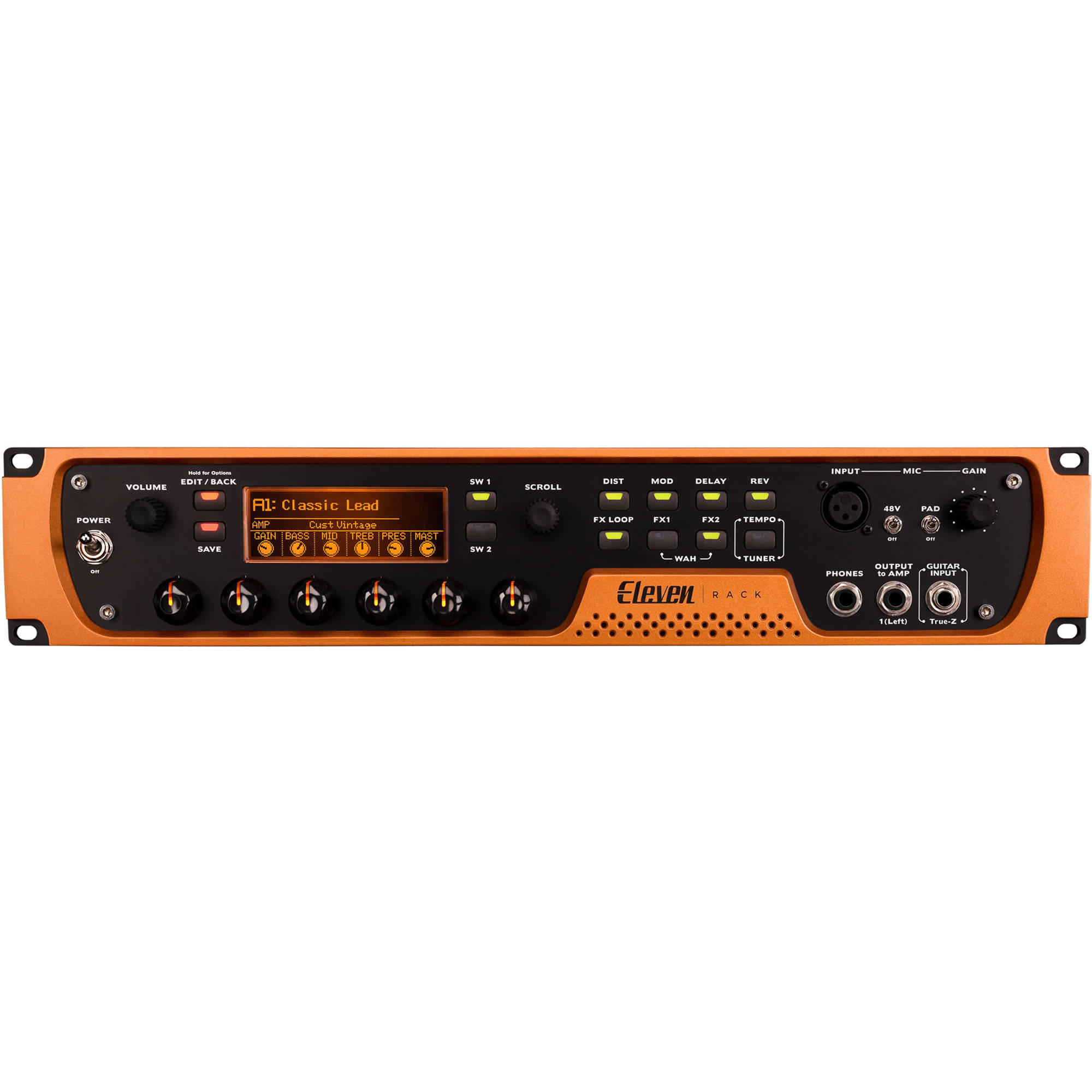 Avid Pro Tools   Eleven Rack - Recording and Guitar Amp Emulation System  with 1-Year Pro Tools License