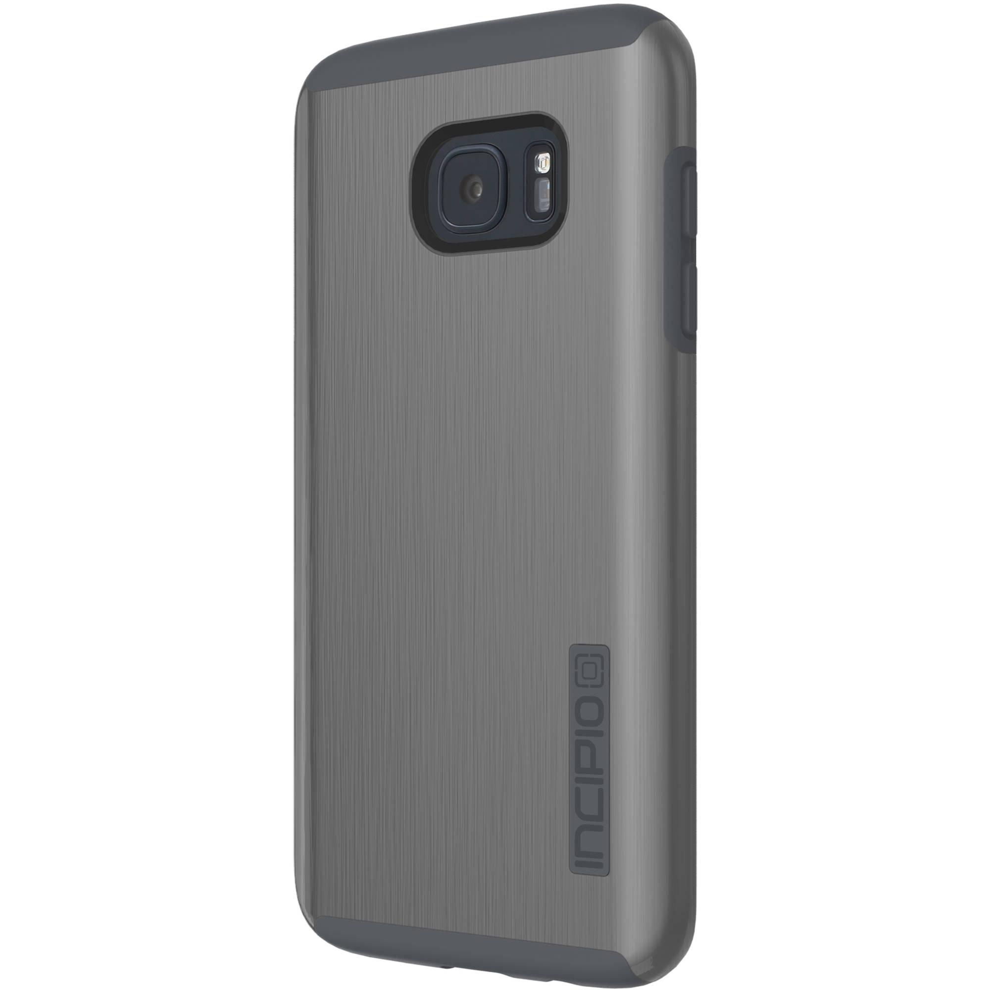 best sneakers 1b5c9 d3b0a Incipio DualPro SHINE Case for Galaxy S7 edge (Gunmetal/Gray)