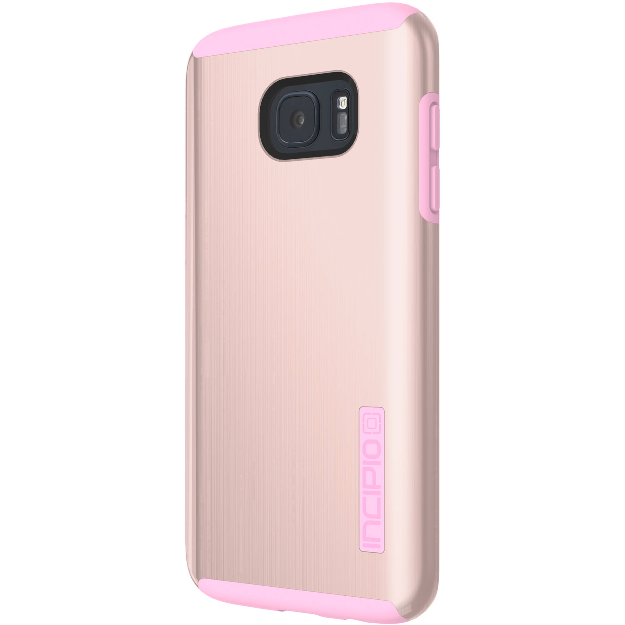 size 40 b4d25 f0241 Incipio DualPro SHINE Case for Galaxy S7 edge (Gold/Pink)