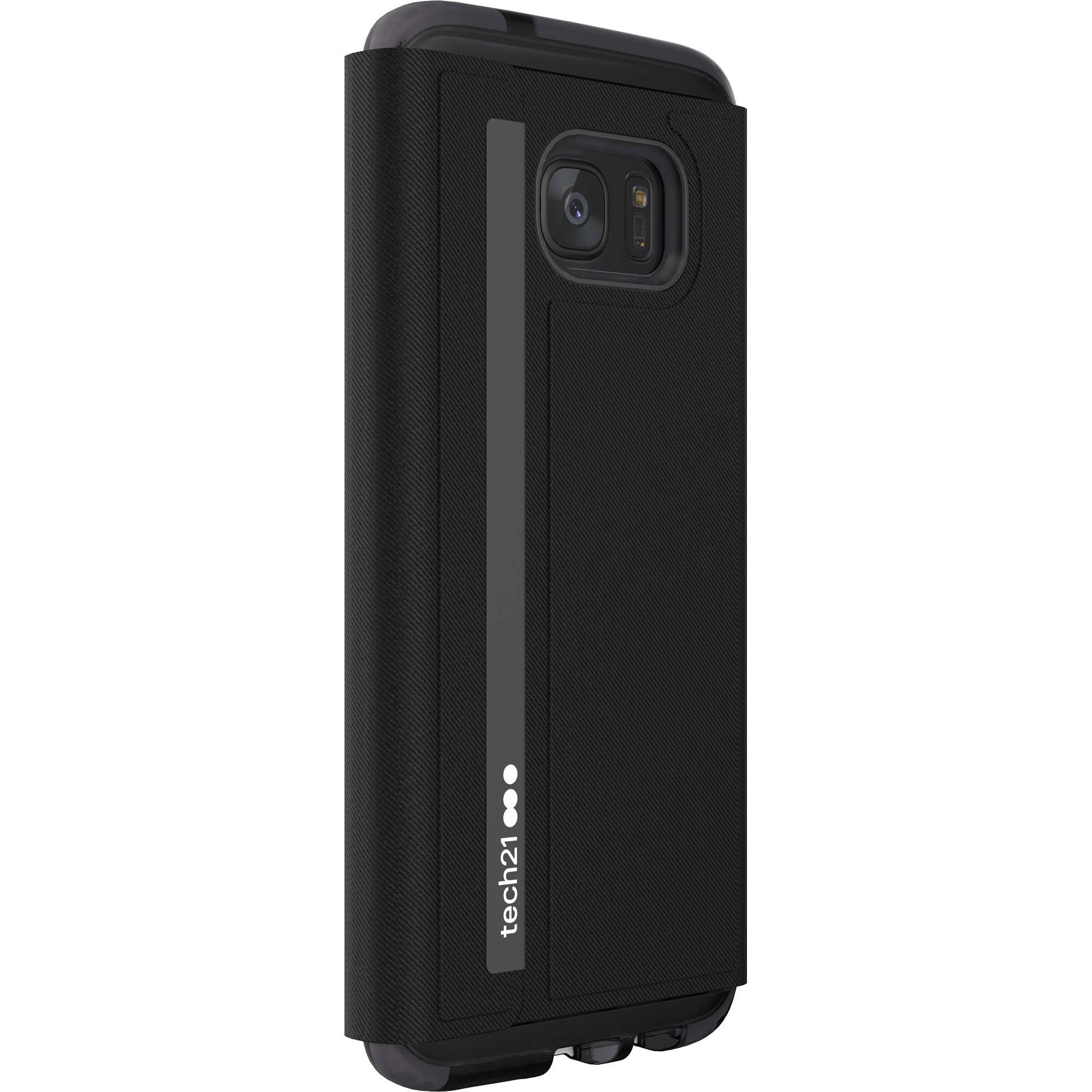 new product df4b5 935ef Tech21 Evo Wallet Case for Galaxy S7 edge (Black)