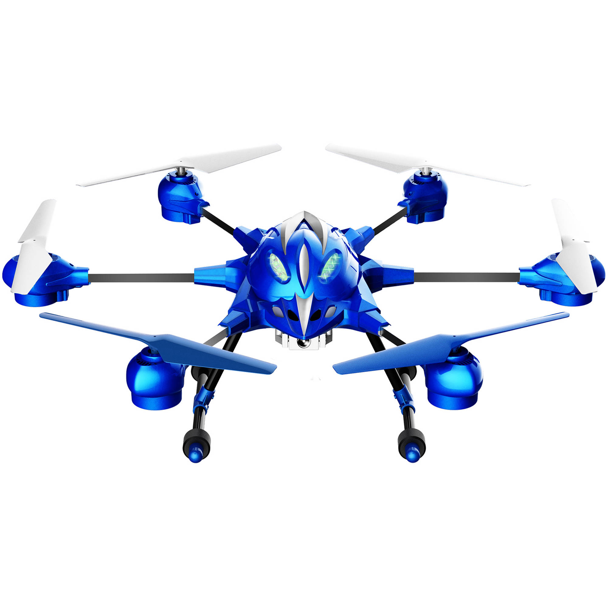 Riviera RC Pathfinder Hexacopter Drone (Small, Blue)