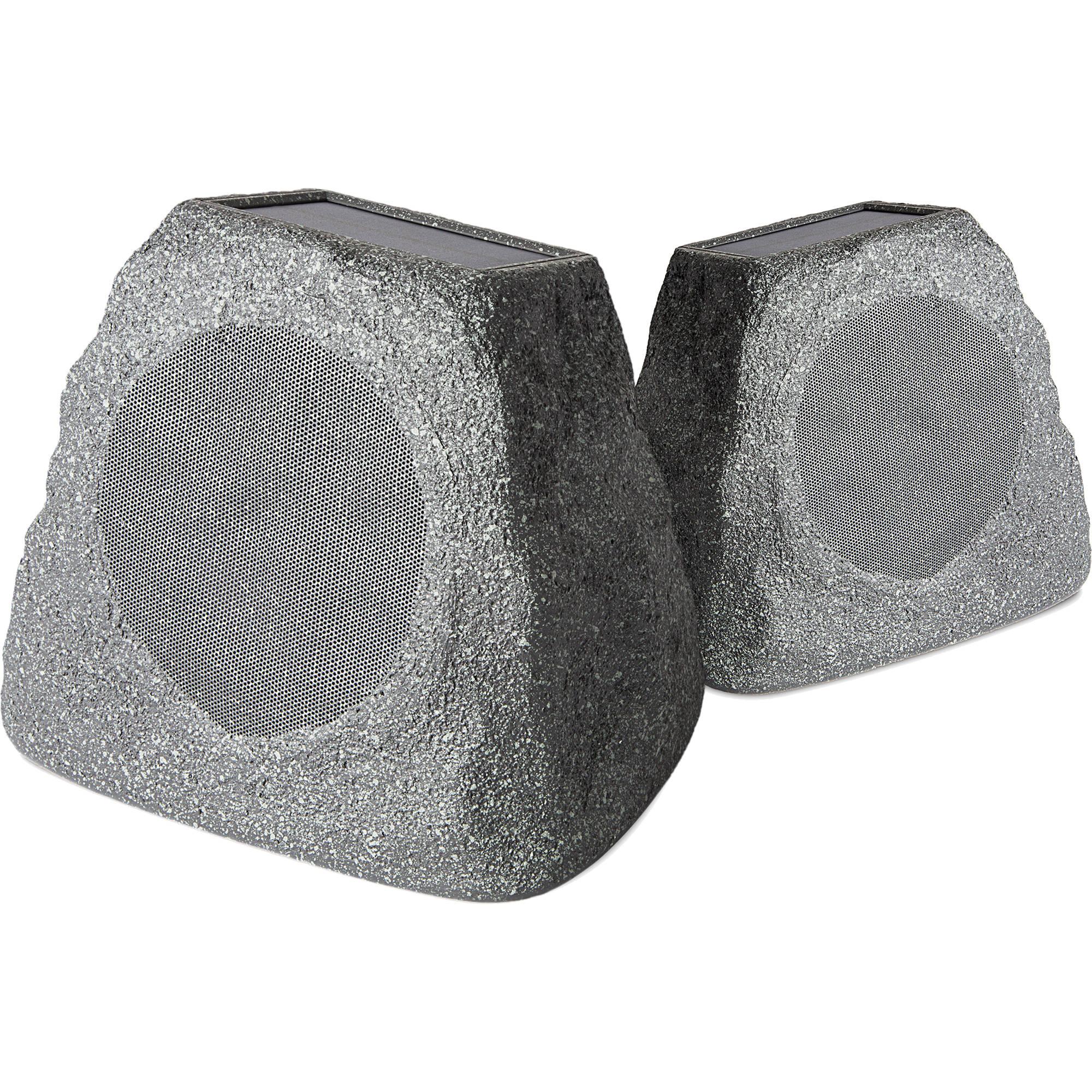 ION Audio Solar Stone Wireless Speaker (Pair)