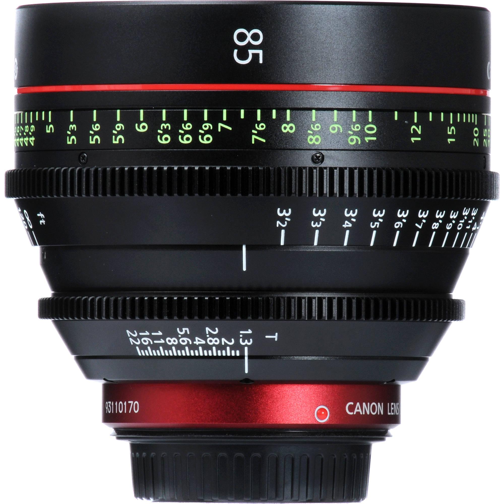 Canon Cn E 85mm T1 3 L F Cine Lens 6571b001 B H Photo Video