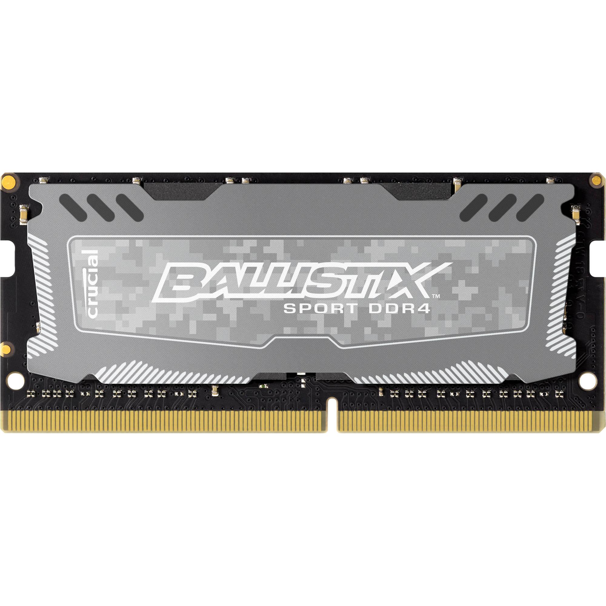 4GB Crucial Ballistix Sport LT PC4-19200 2400MHz CL16 DDR4 Memory Module