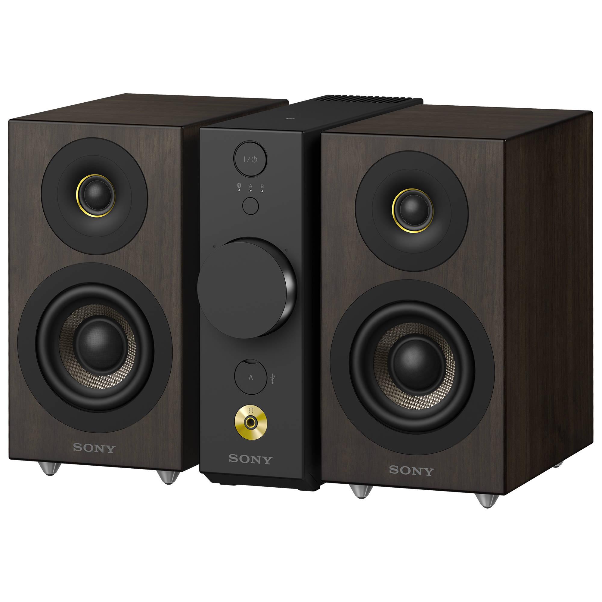 Sony CAS-1 High-Resolution Desktop Audio System with Headphone Amplifier
