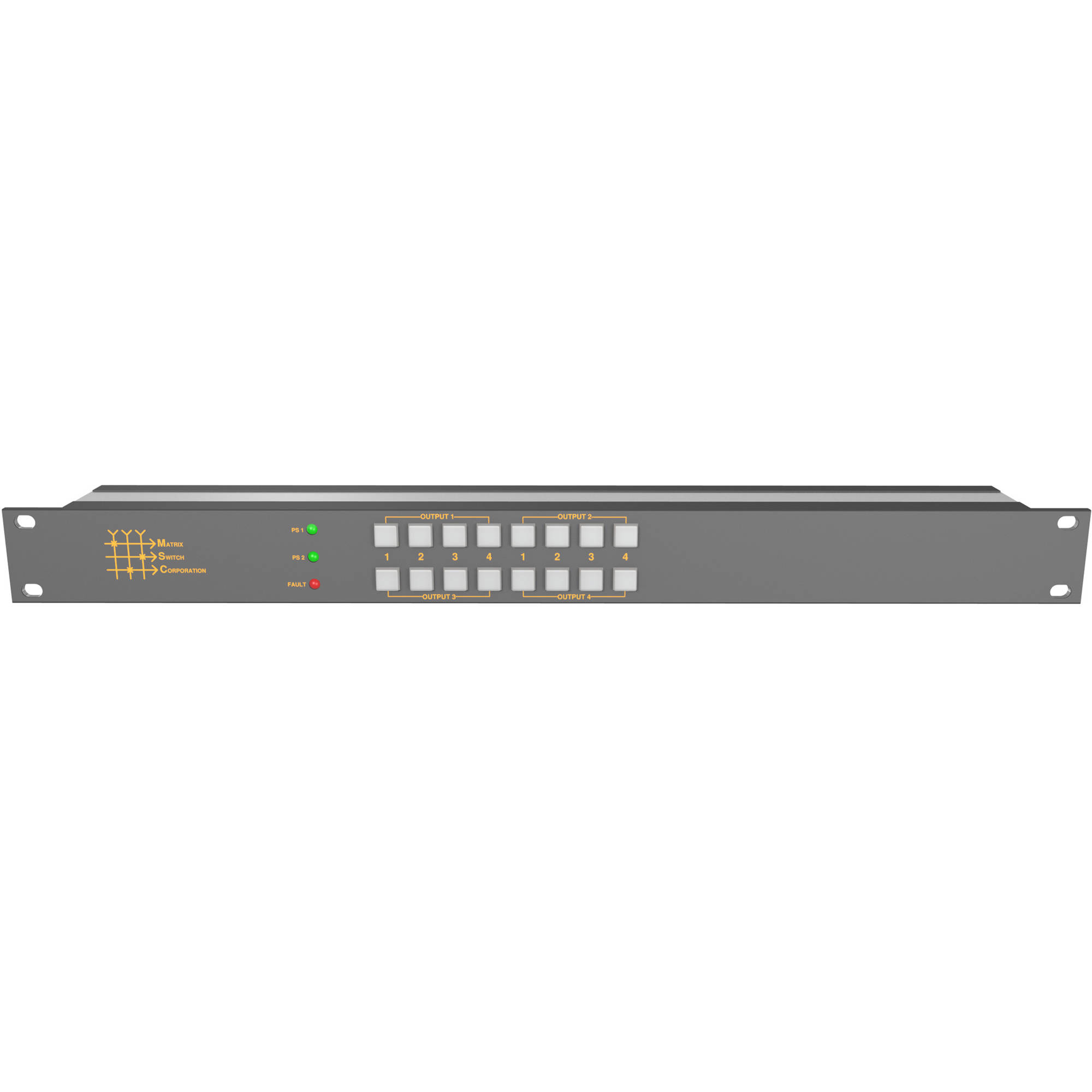 Matrix Switch 12 x 1 3G-SDI Video Routing Switcher with Button Panel