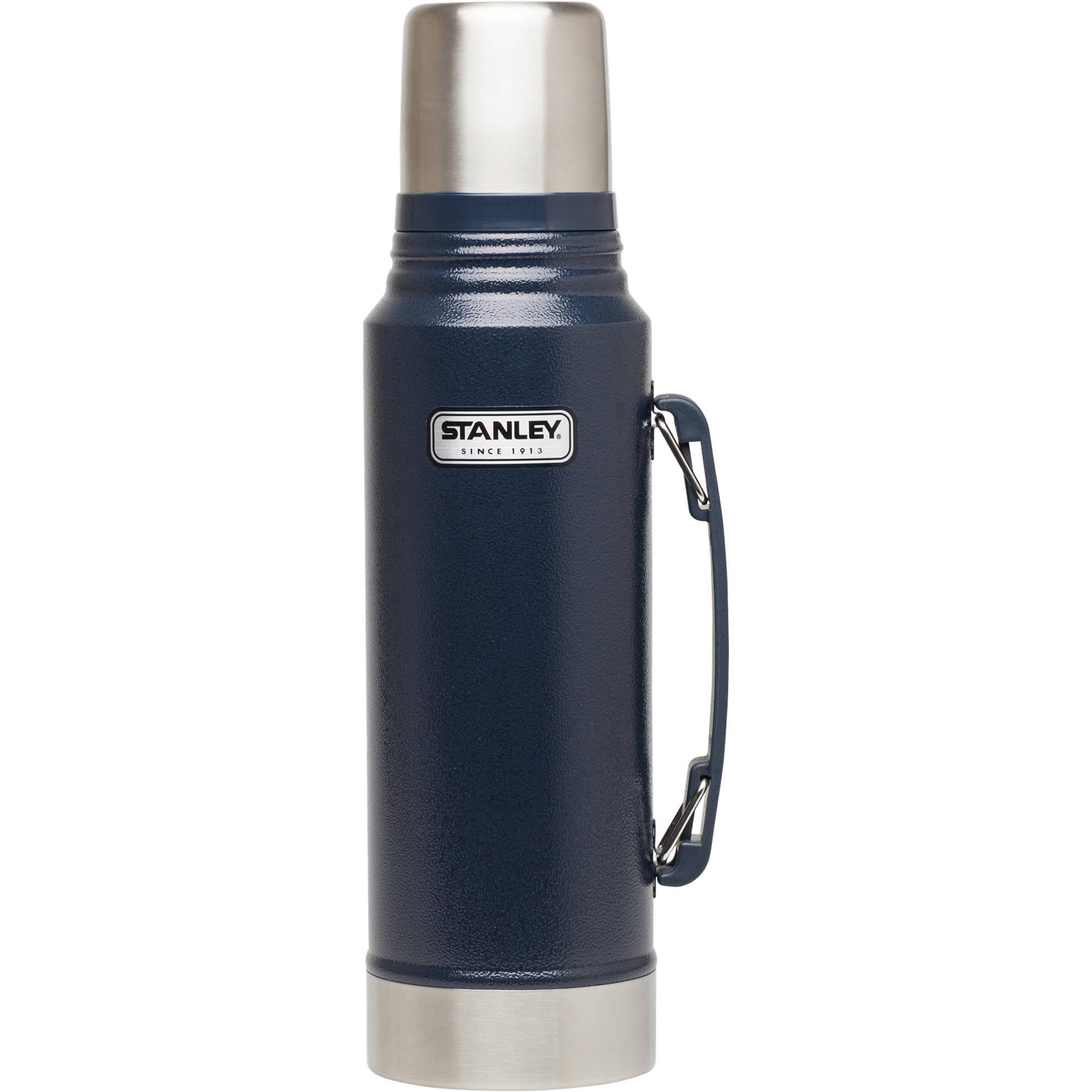 Stanley Classic 1 1-Quart Vacuum Bottle (Hammertone Navy)