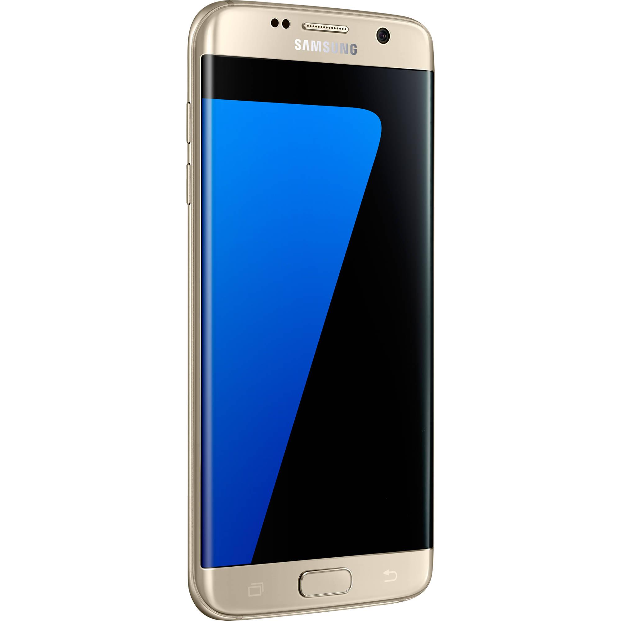 Samsung Galaxy S7 edge Duos SM-G935FD 32GB Smartphone (Unlocked, Gold)