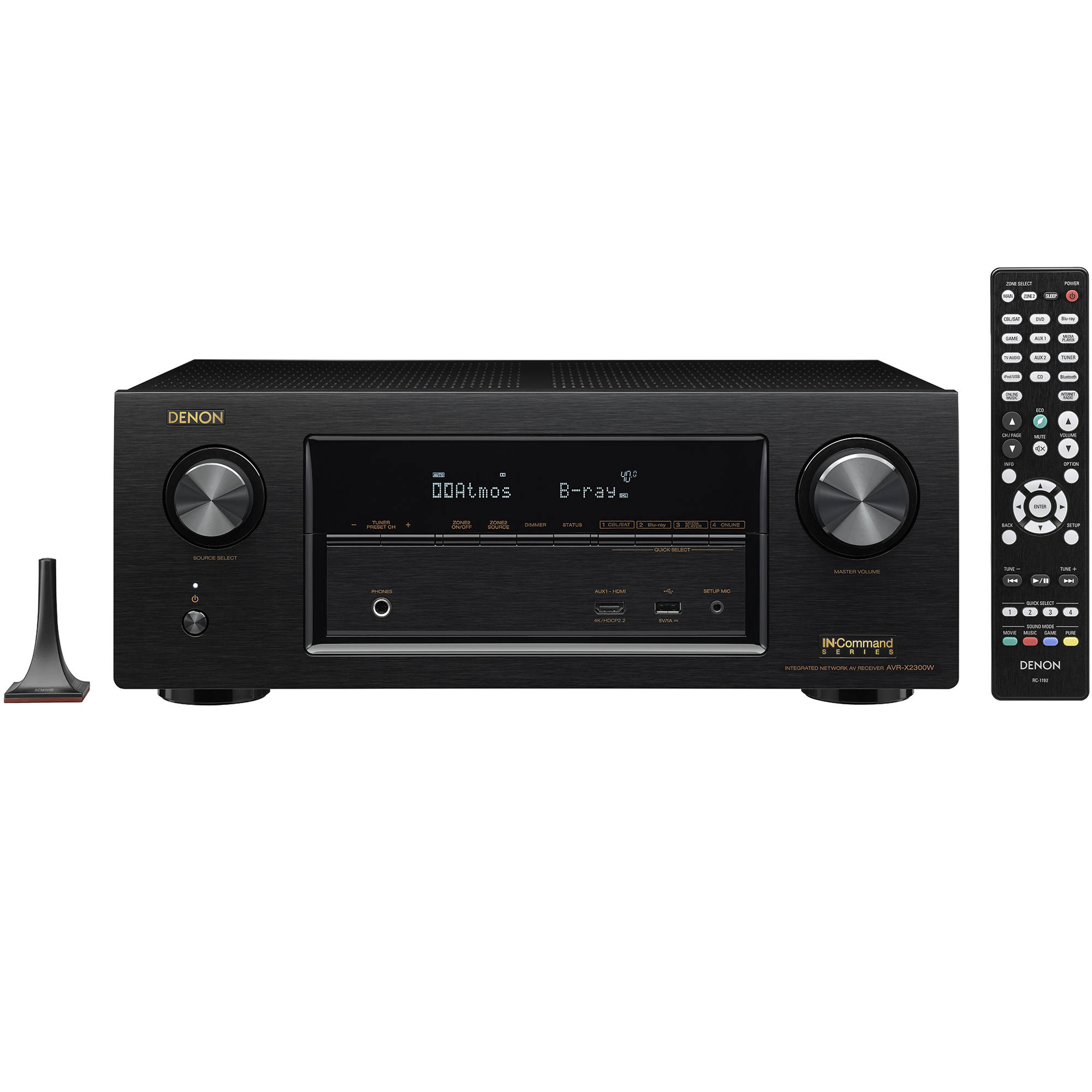 Denon AVR-X2300W 7 2-Channel Network A/V Receiver