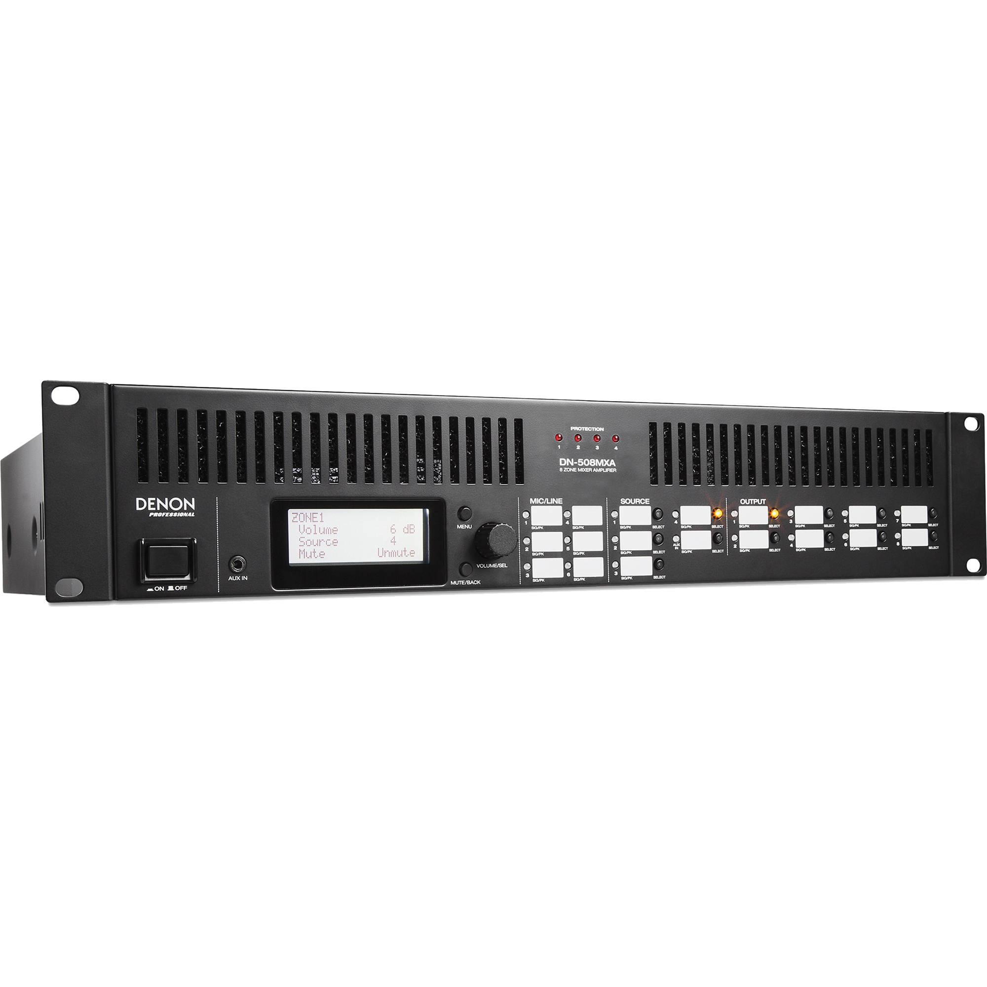 Denon DN-508MXA Powered 8-Zone Digital Mixer