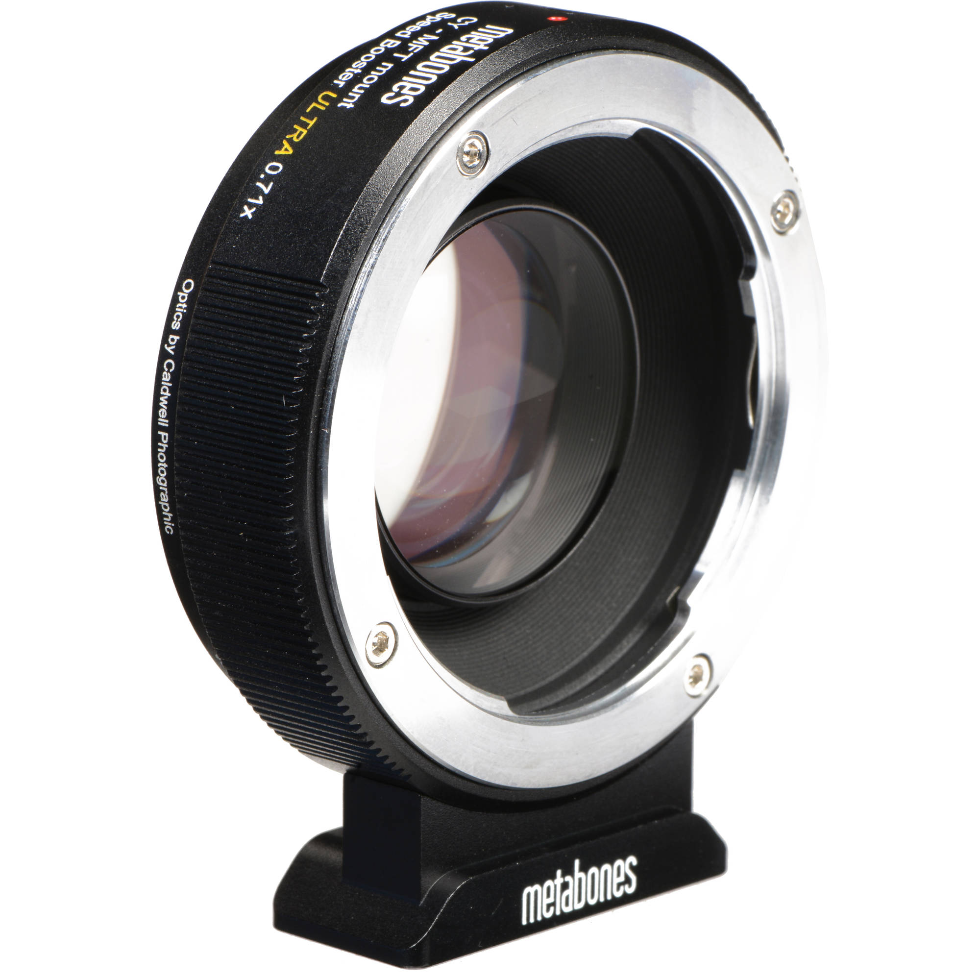 Metabones Speed Booster Ultra 0 71x Adapter for Contax/Yashica-Mount Lens  to Micro Four Thirds-Mount Camera