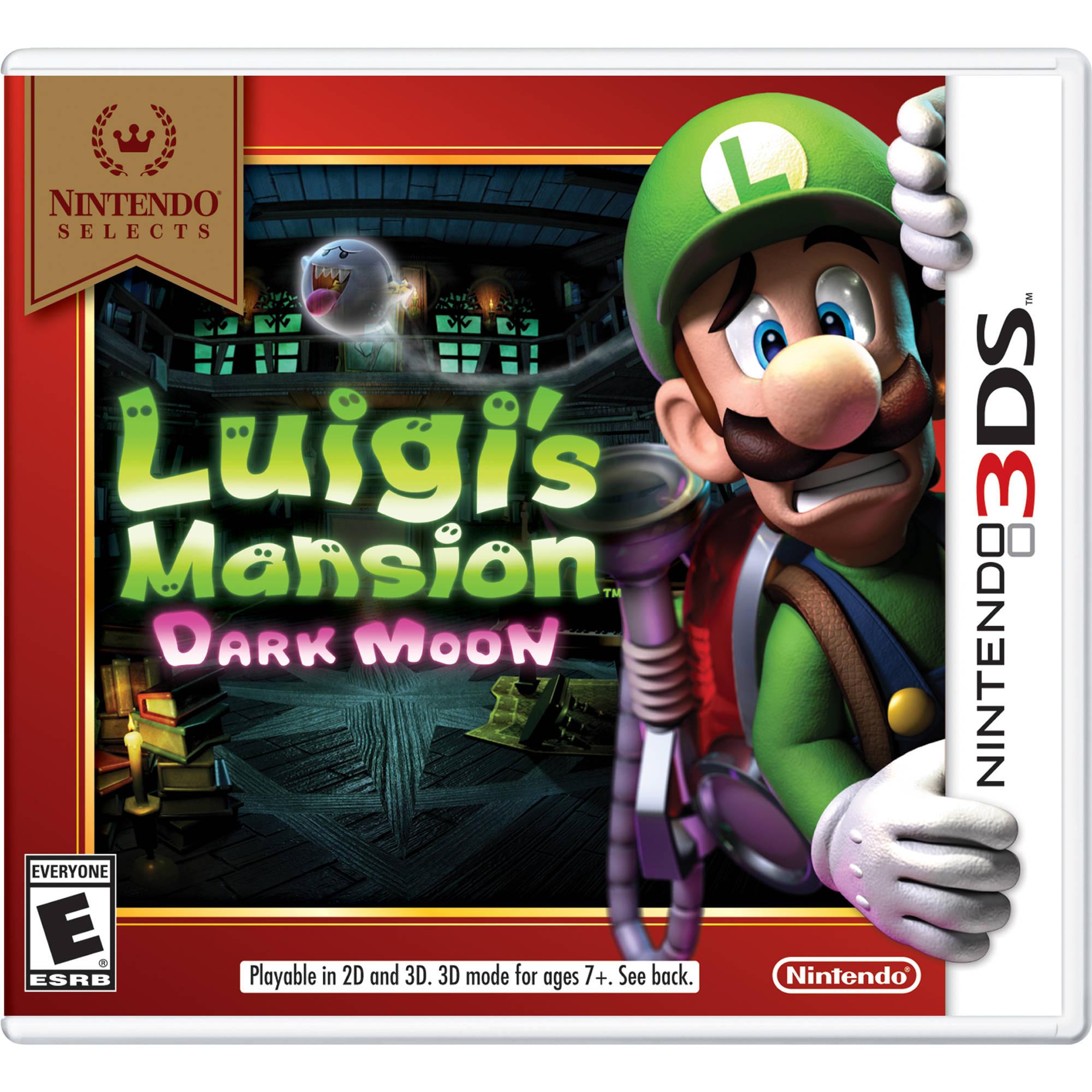 Nintendo Selects Luigi S Mansion Dark Moon Nintendo 3ds