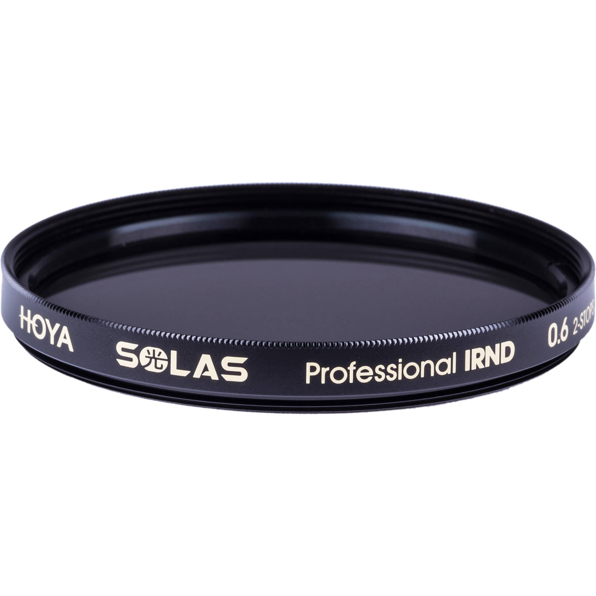 Hoya Solas IRND 0.6 77mm Infrared Neutral Density Filter