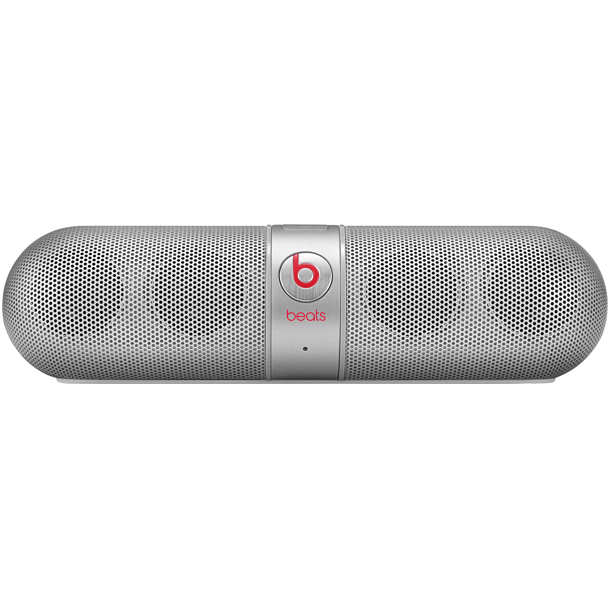 Beats by Dr  Dre pill 2 0 Portable Speaker (Silver)