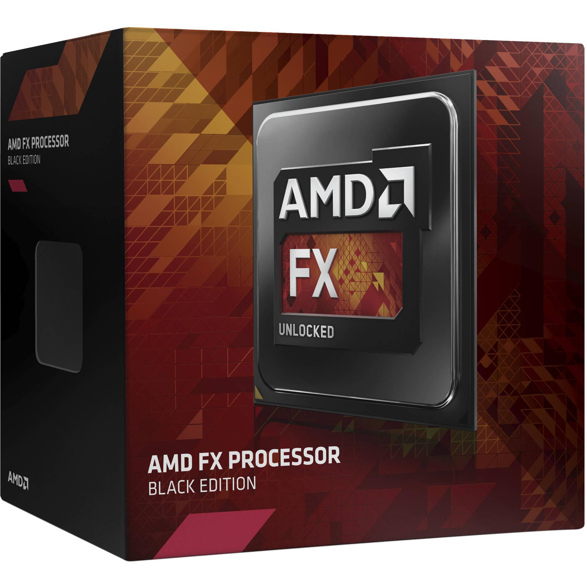 Amd Fx Series Fx 4 Core Black Edition Fx 4300 Fd4300wmhkbox B H