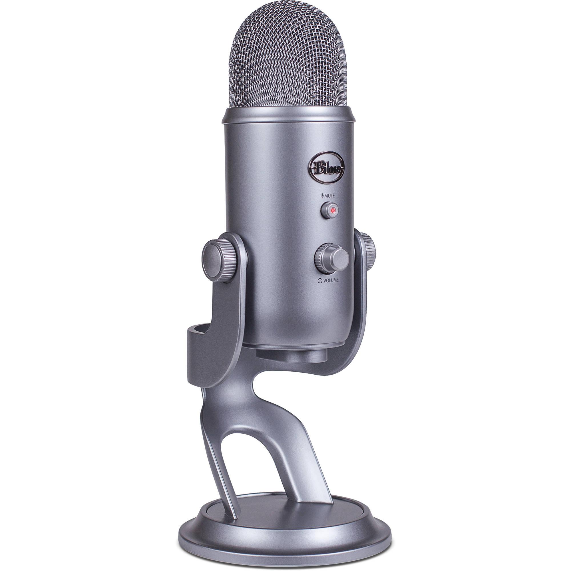Blue Yeti USB Microphone (Platinum)