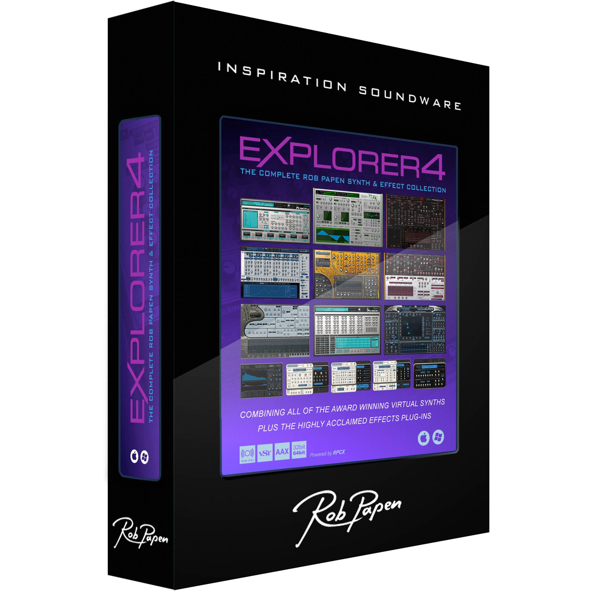 Rob Papen eXplorer 4 Bundle Upgrade (Download) RPEXP4UP1 B&H