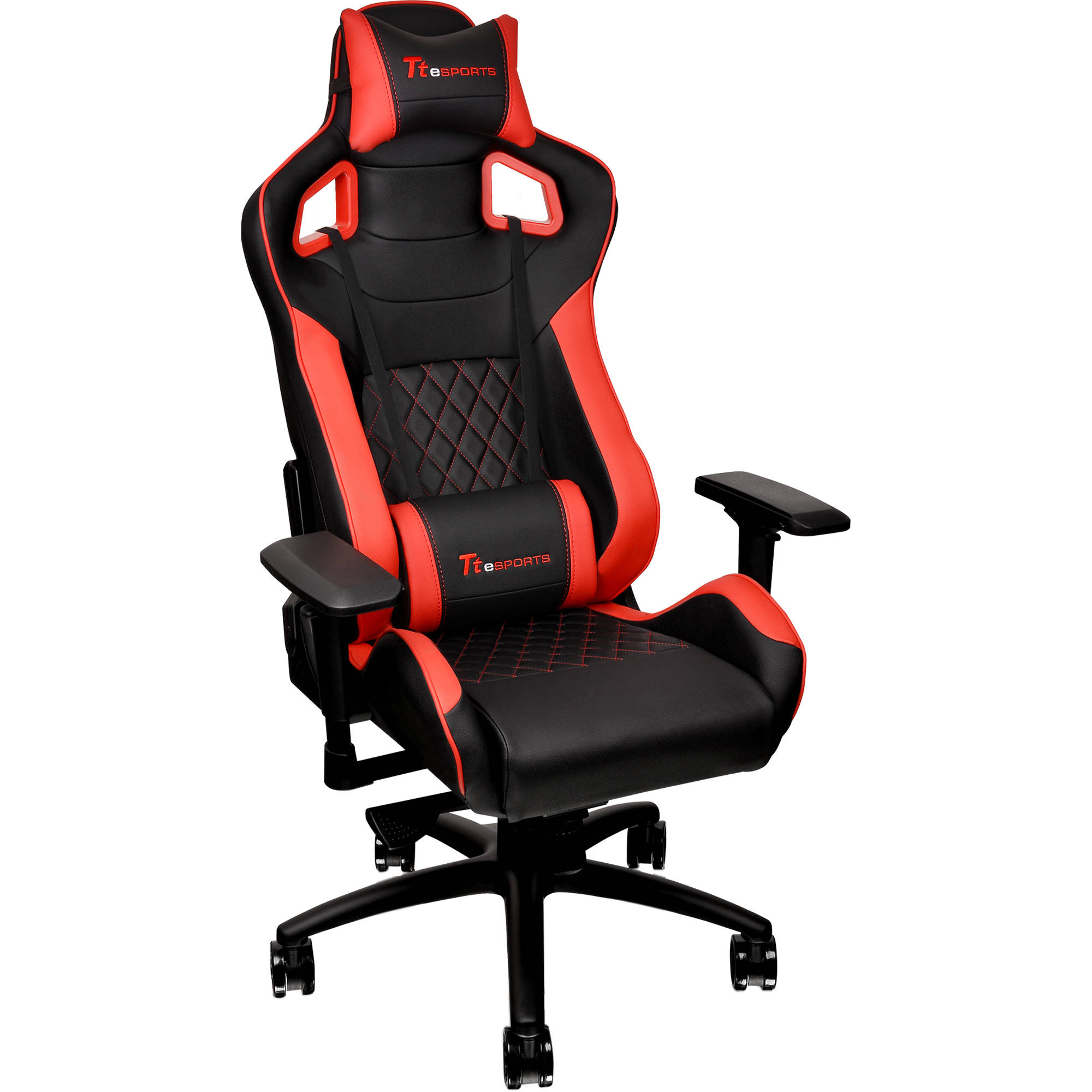 Fantastic Thermaltake Tt Esports Gt Fit F100 Gaming Chair Red Black Onthecornerstone Fun Painted Chair Ideas Images Onthecornerstoneorg