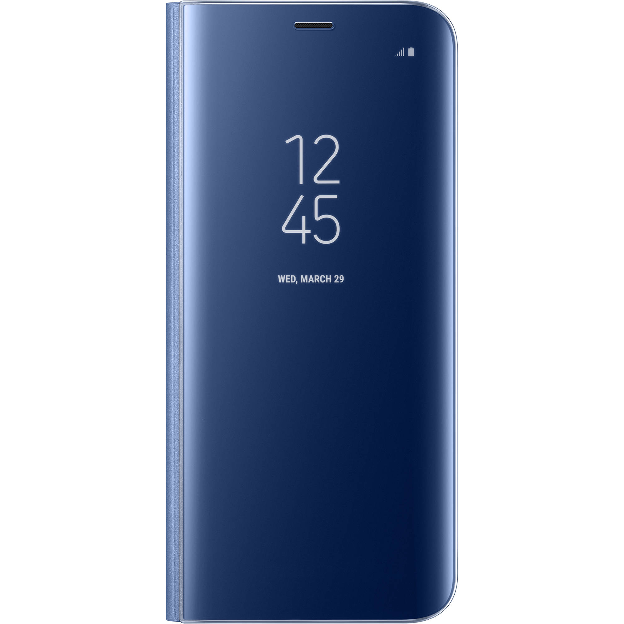 new arrival f8305 423ae Samsung S-View Flip Cover for Galaxy S8 (Blue)