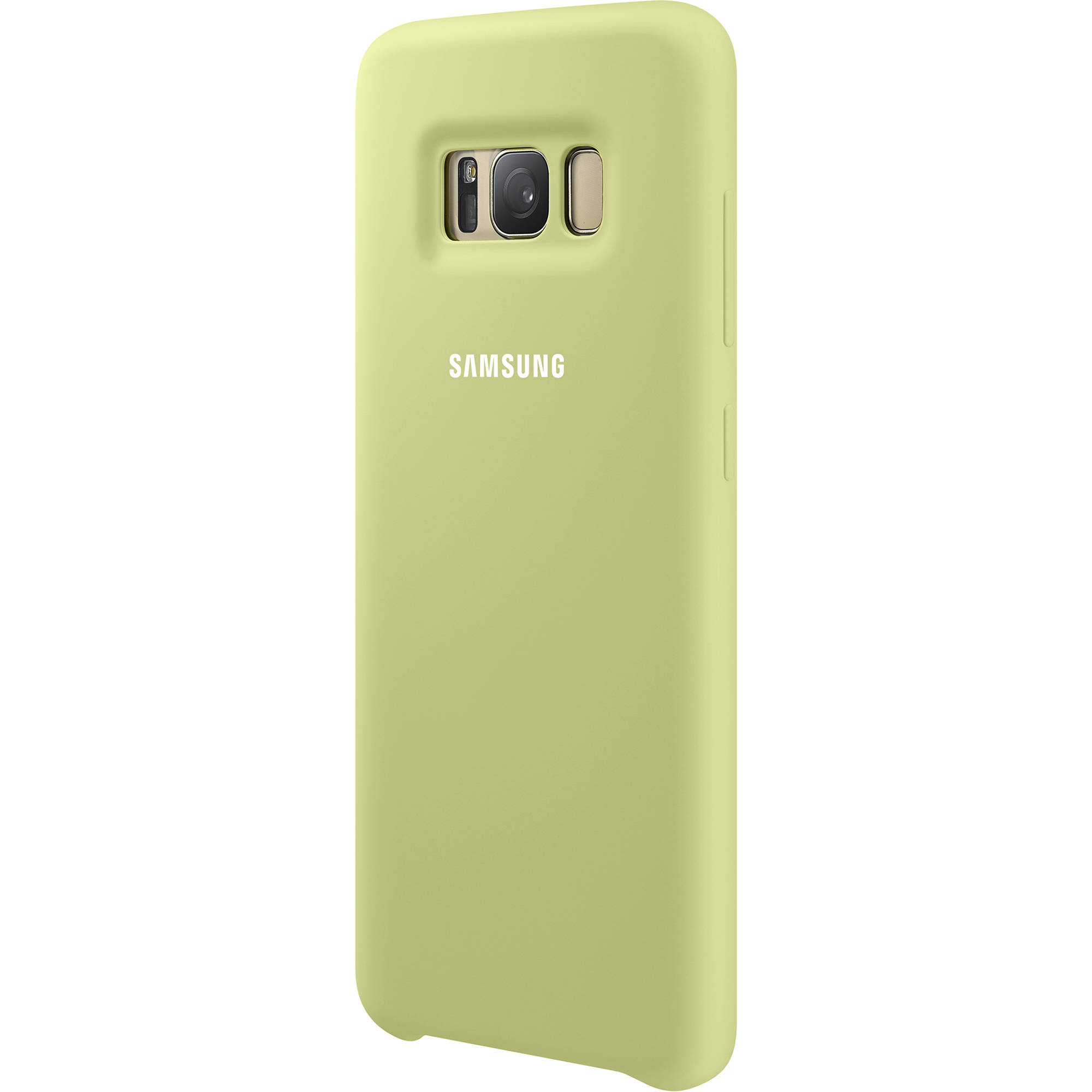 pretty nice d98fe 3d5fc Samsung Silicone Cover for Galaxy S8 (Green)