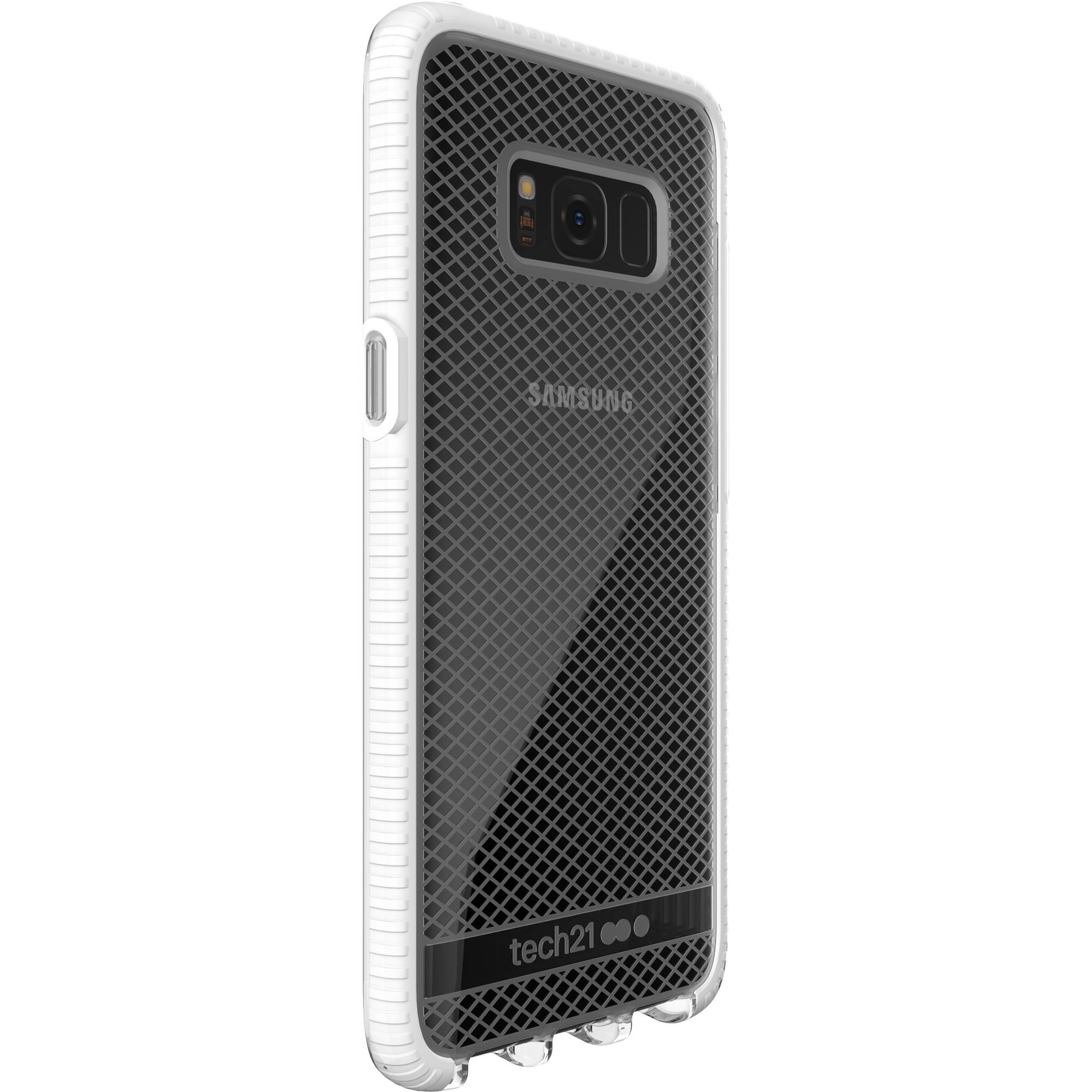 timeless design 4e322 31a43 Tech21 Evo Check Case for Galaxy S8 (Clear/White)