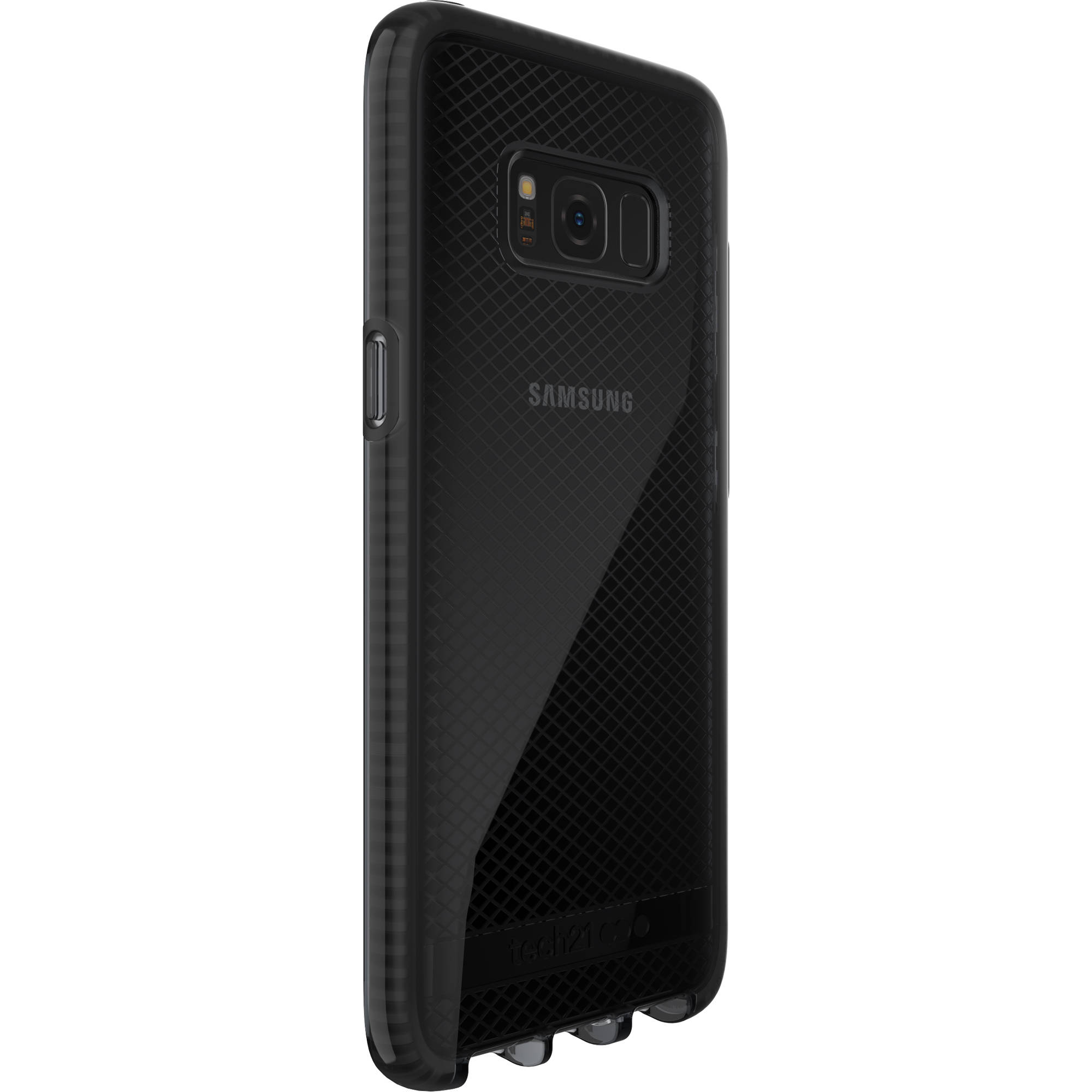 watch 4c092 c6e2b Tech21 Evo Check Case for Galaxy S8 (Smokey/Black)