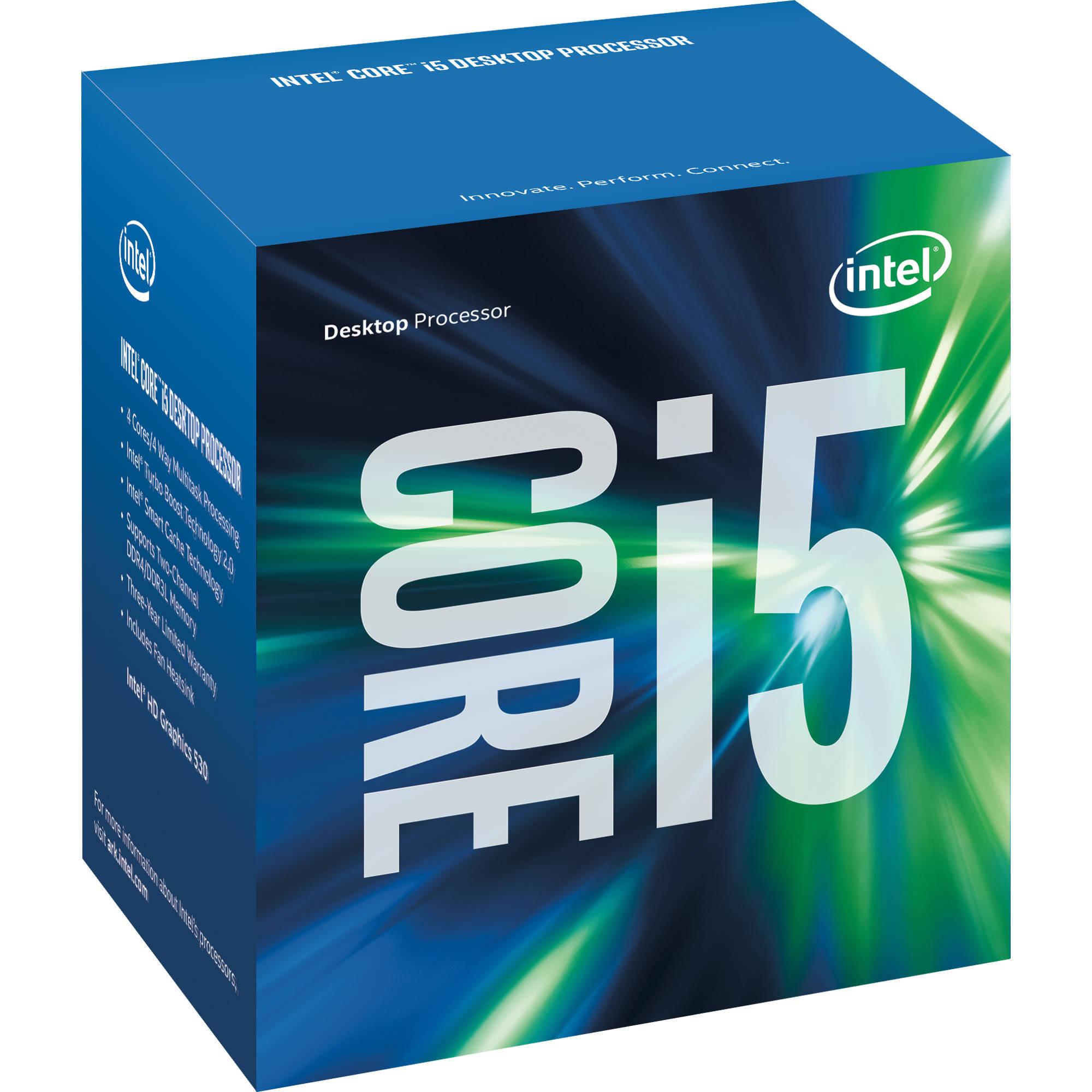 Intel Core i5/ /6500/3,2/gHz LGA1151/6/MB Cache Tray C