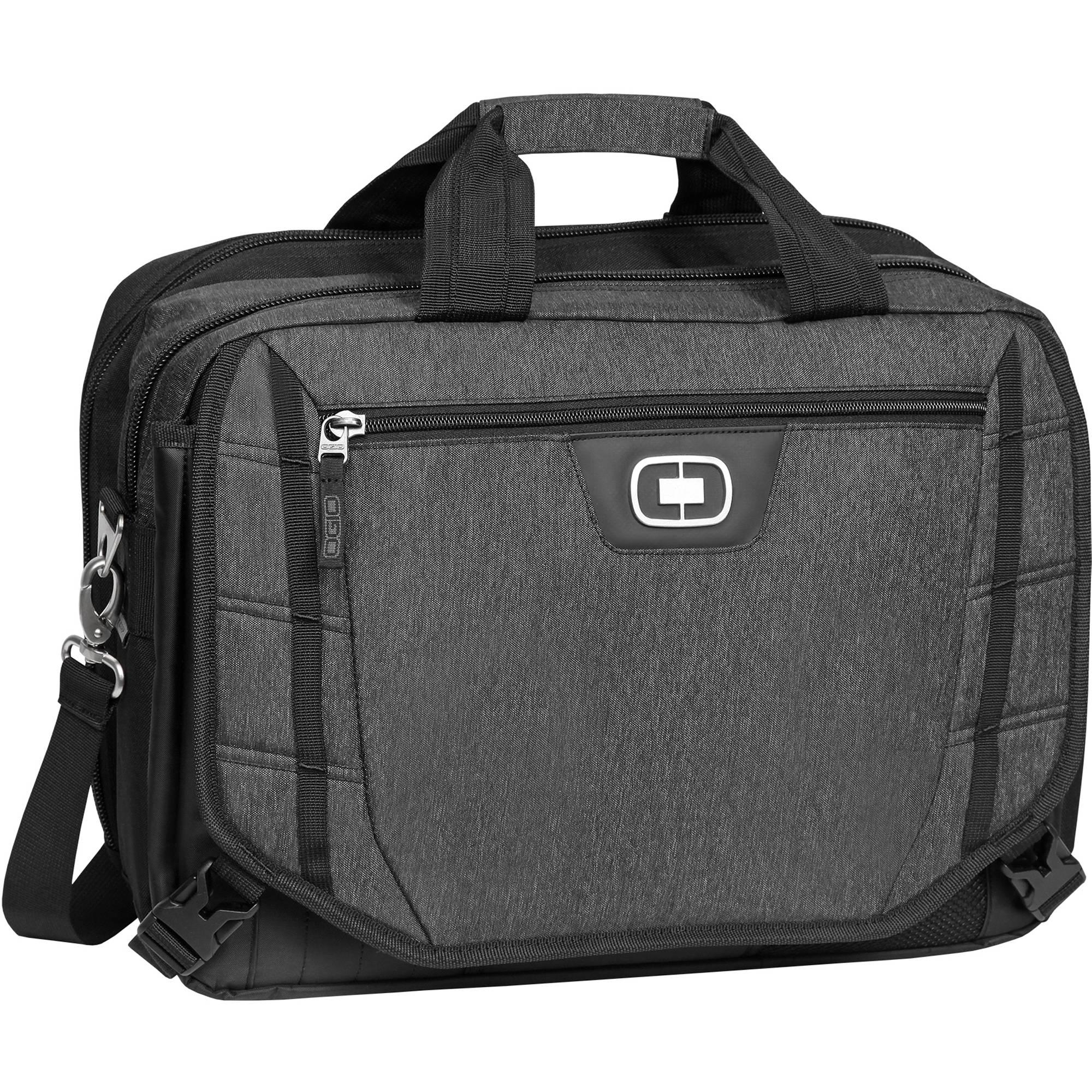 Ogio Circuit Tzm Messenger Bag For 15 Laptop Black Dark Static
