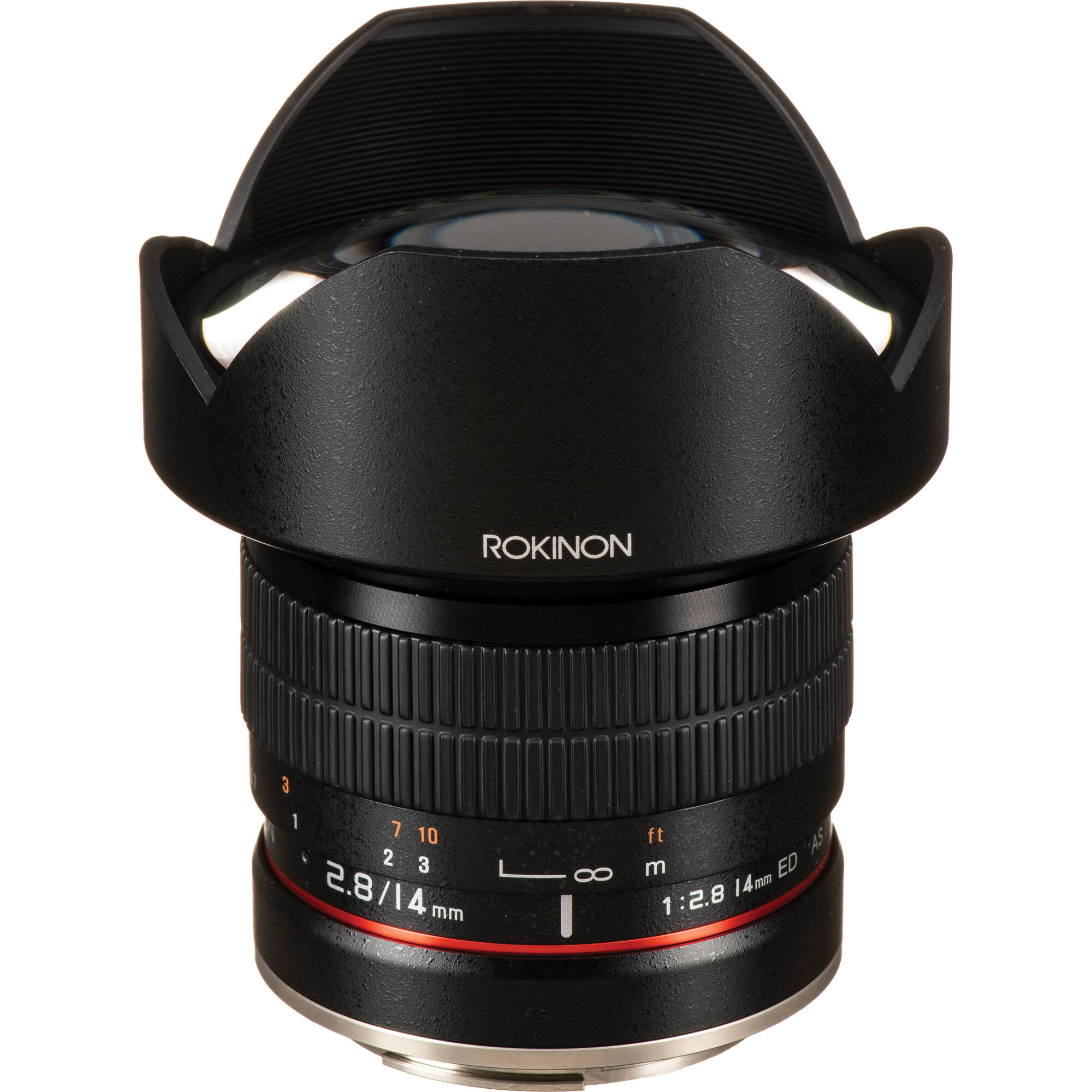 Rokinon 14mm f/2 8 IF ED UMC Lens For Canon EF with AE Chip