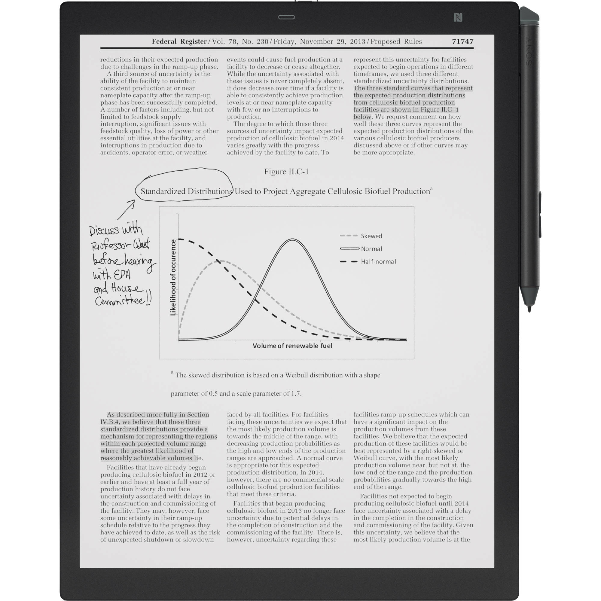 Sony 13 3 16gb Dpt Rp1 Digital Paper System Black