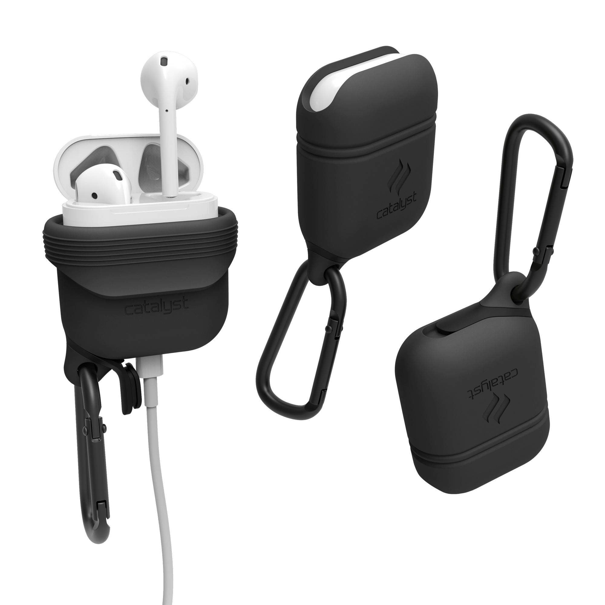 best service b6445 77338 Catalyst Case for Apple AirPods (Slate Gray)