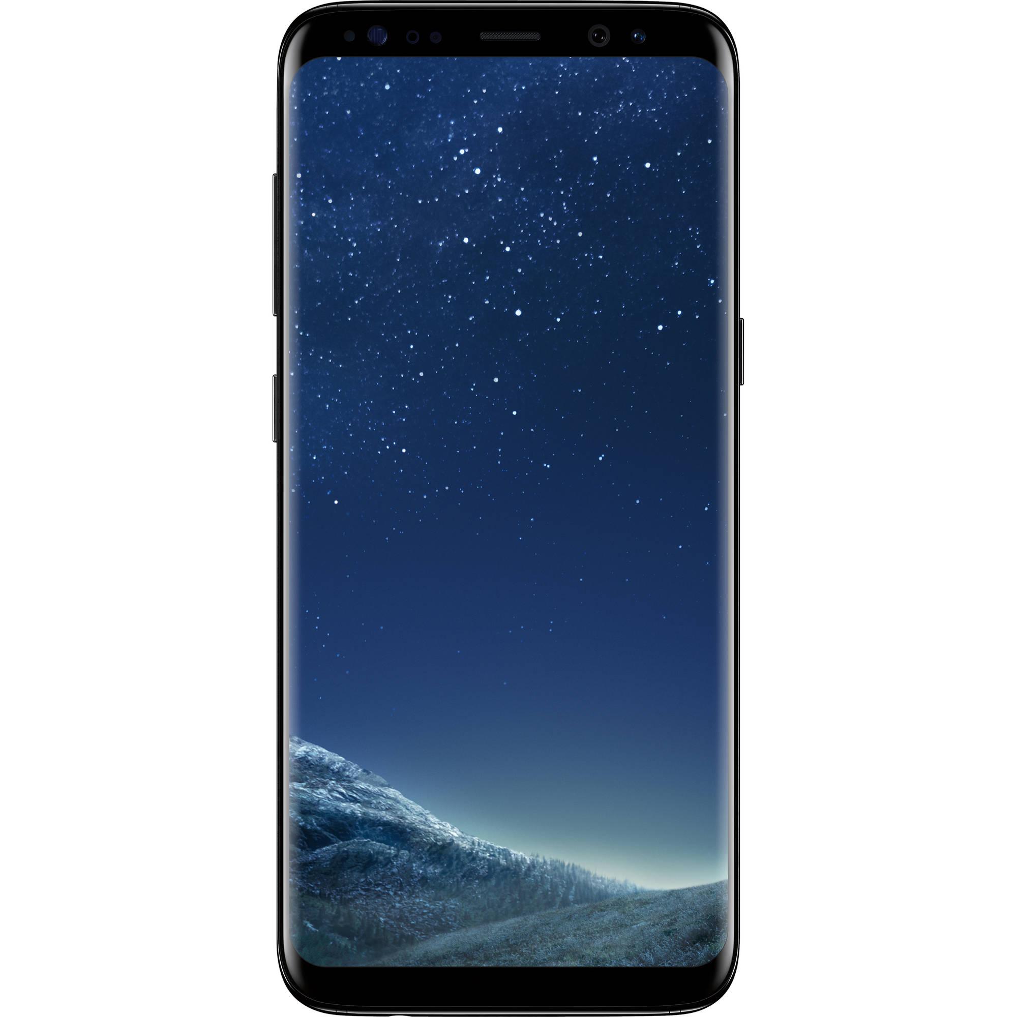 Samsung Galaxy S8 SM-G950U 64GB Smartphone (Unlocked, Midnight Black)