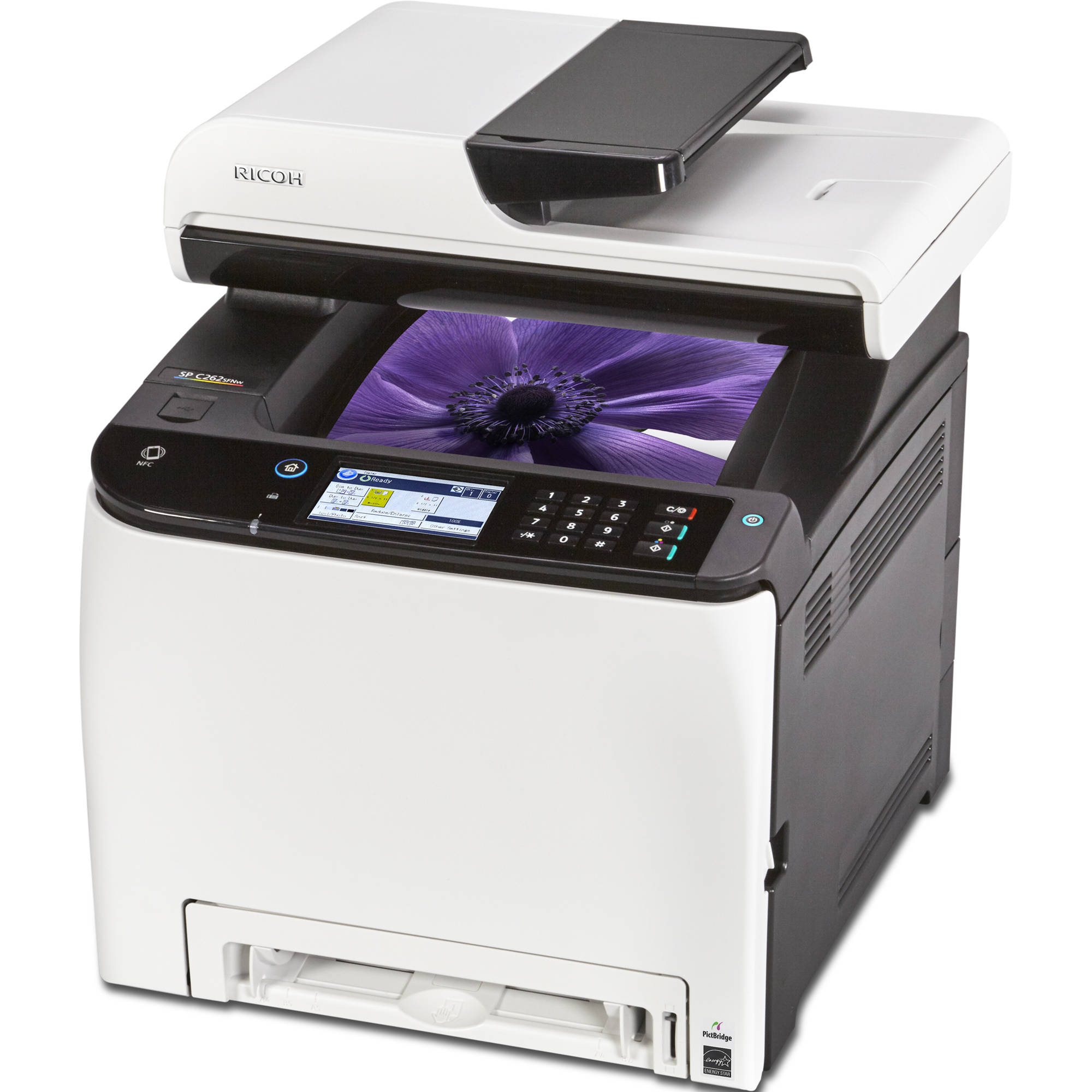 Ricoh SP C262SFNw All-in-One Color Laser Printer