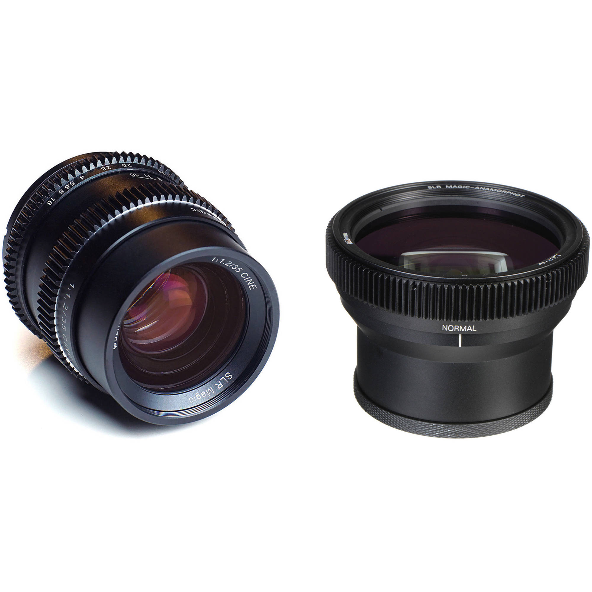 SLR Magic Cine 35mm f/1 2 FE Lens and Anamorphot-40 1 33x Anamorphic  Adapter Kit (E-Mount)