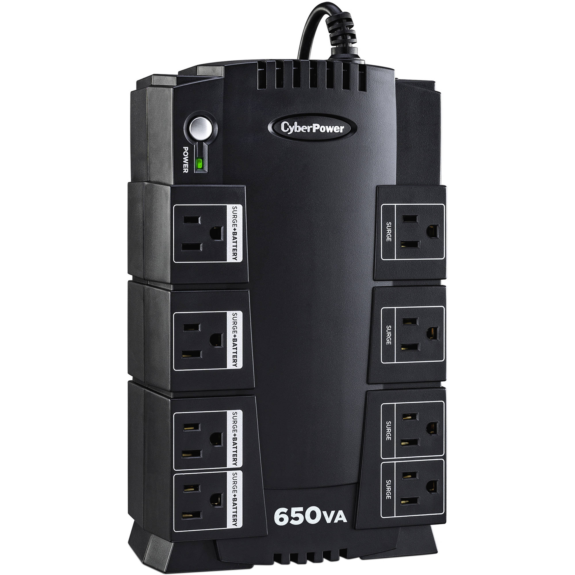 CyberPower 650VA 8-Outlet UPS System