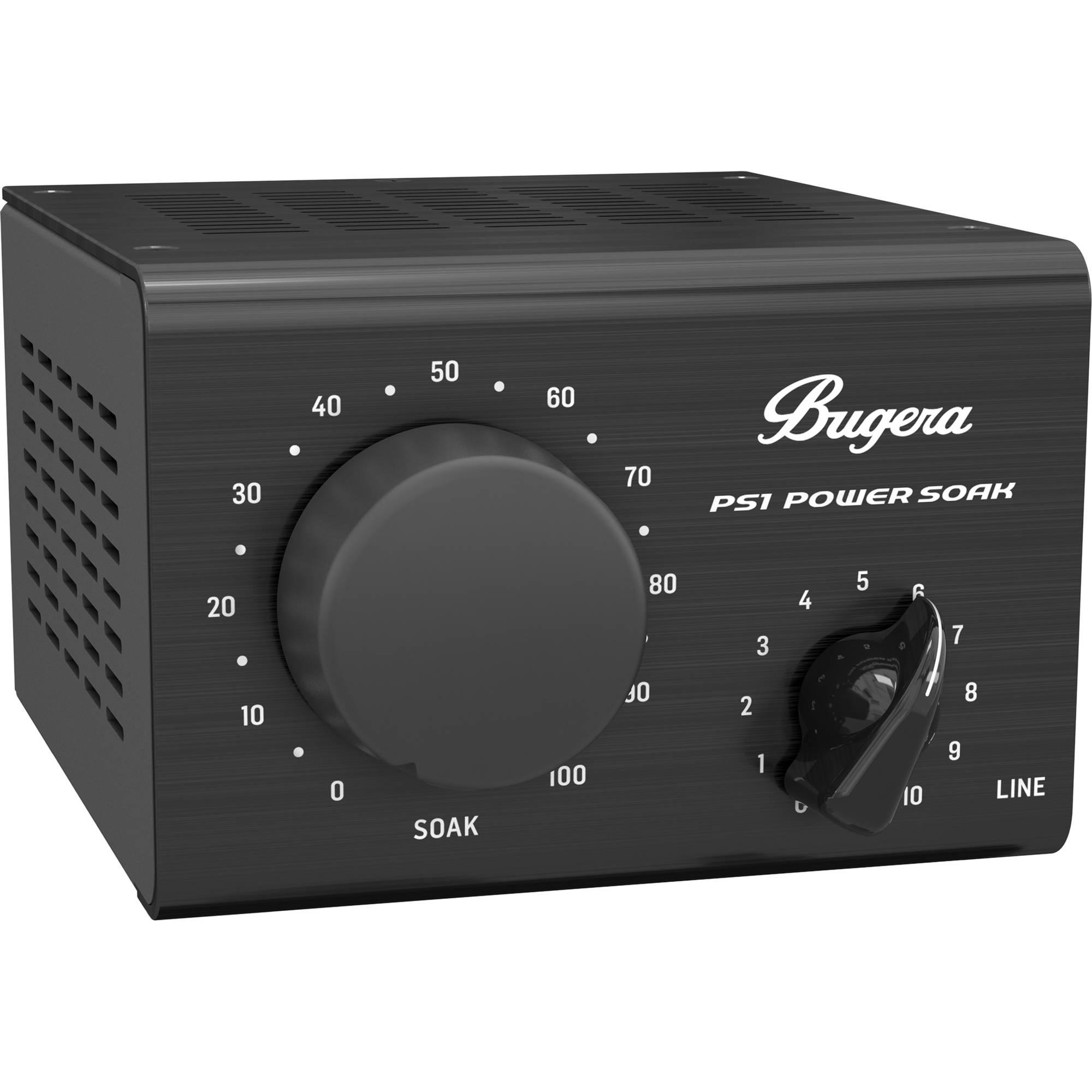 Bugera Ps1 Power Soak Passive 100w Power Attenuator And Di Ps1