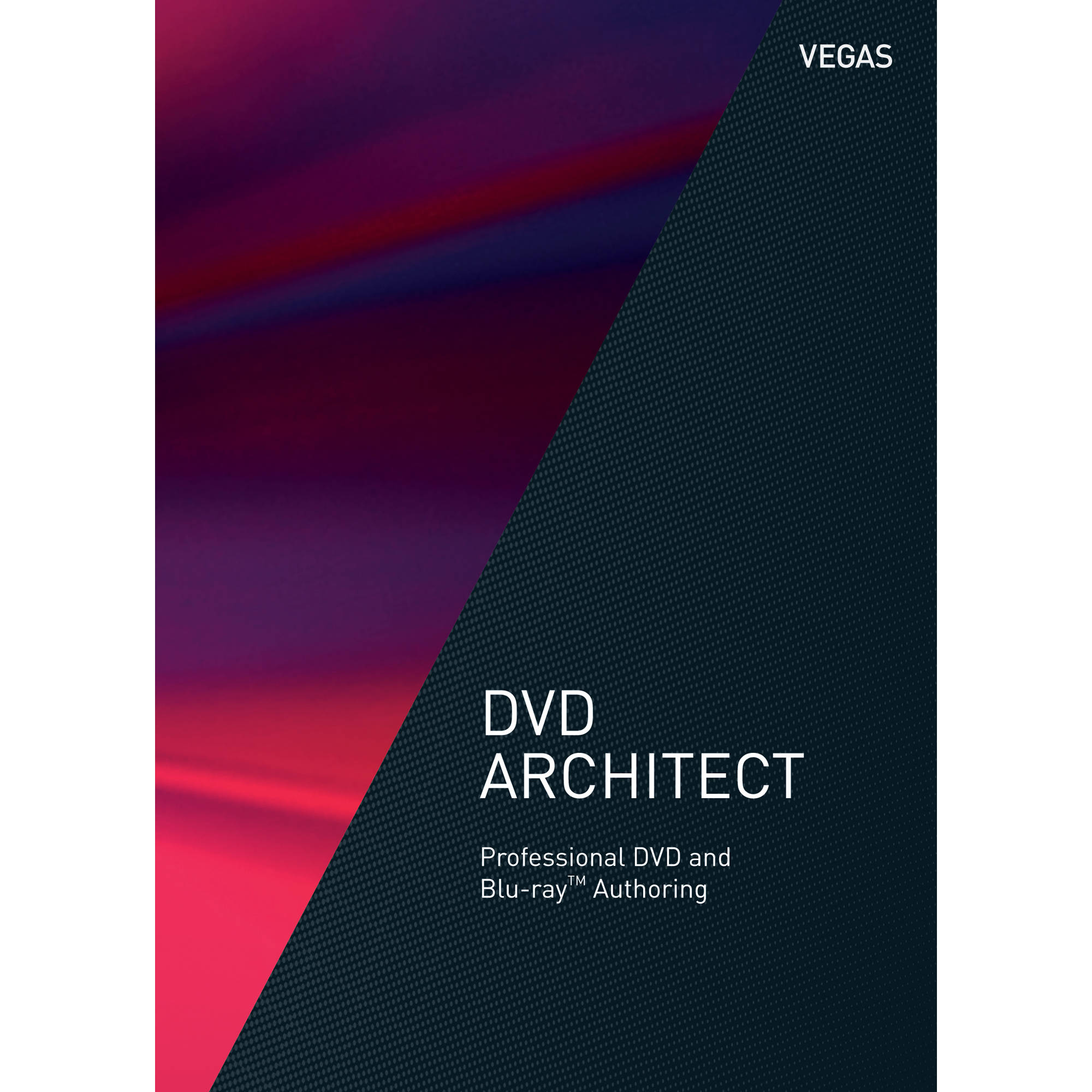 MAGIX Entertainment VEGAS DVD Architect - DVD and Blu-ray Disc Authoring  Software (Academic, 100+ Volume License, Download)