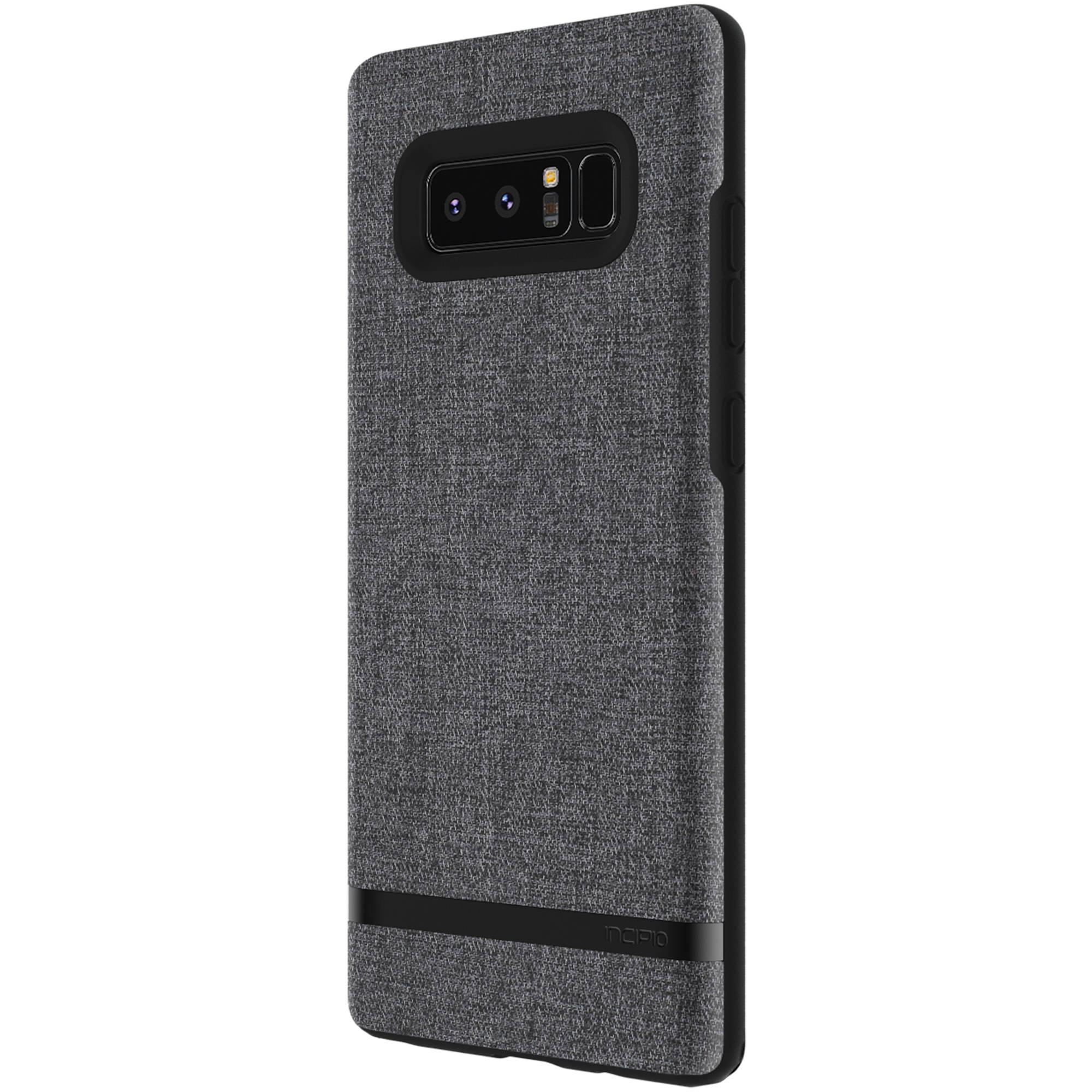 new concept f9874 4e00b Incipio Esquire Series Carnaby Case for Galaxy Note 8 (Forest Gray)