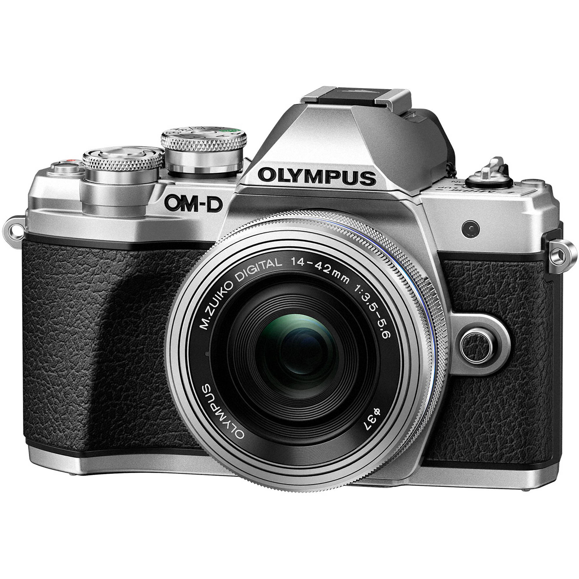 Olympus OM-D E-M10 Mark III Mirrorless Micro Four V207072SU010